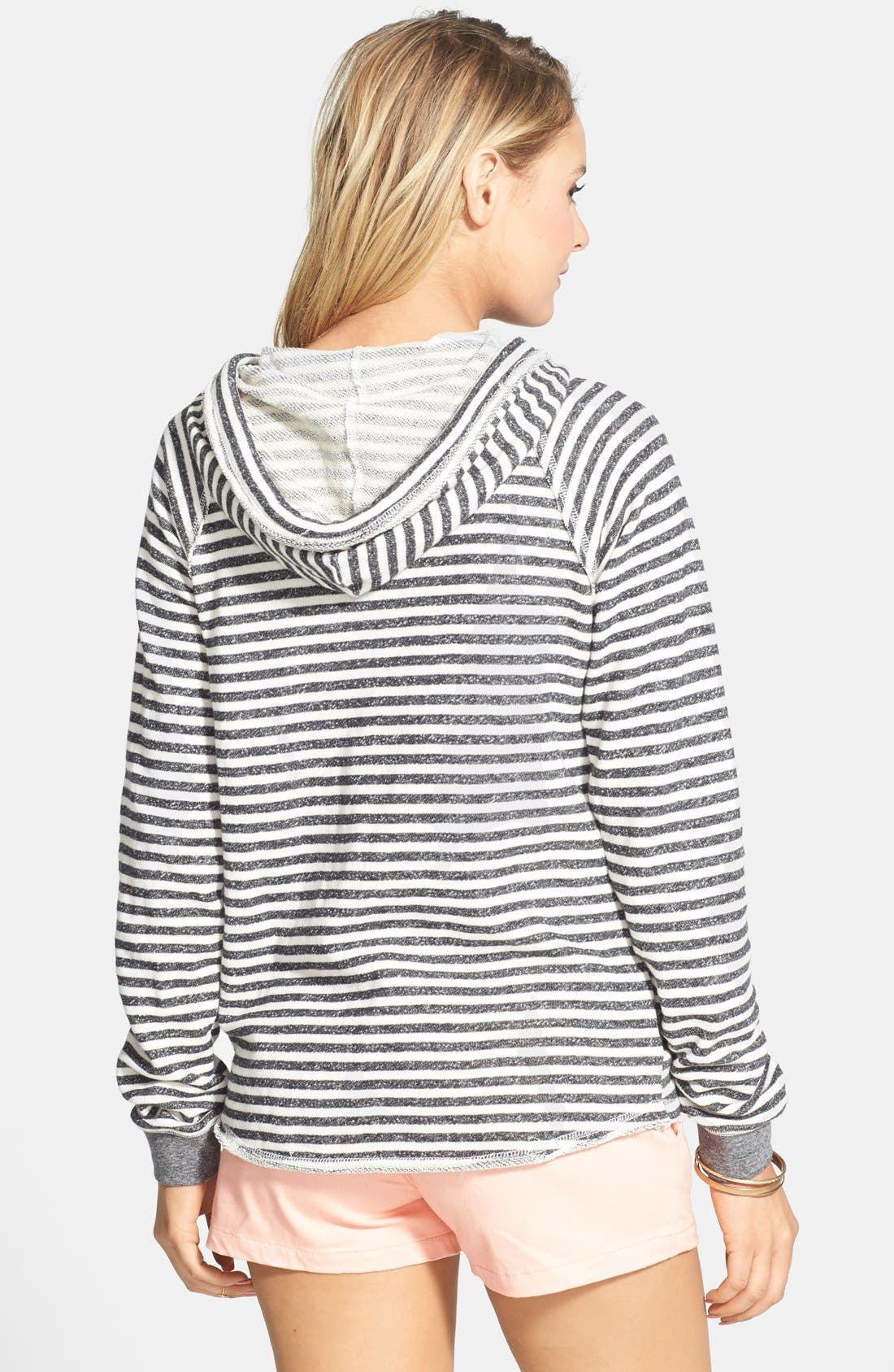 Alternate Image 2  - Volcom 'Front Page' Stripe French Terry Pullover