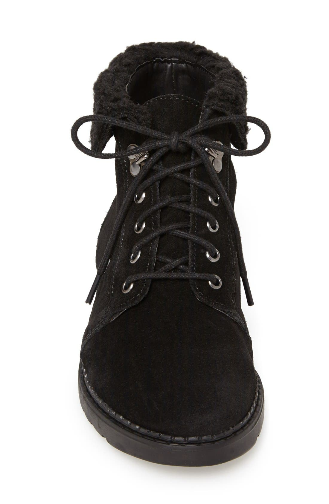 Alternate Image 3  - Topshop 'Brody' Suede Ankle Boot (Women)