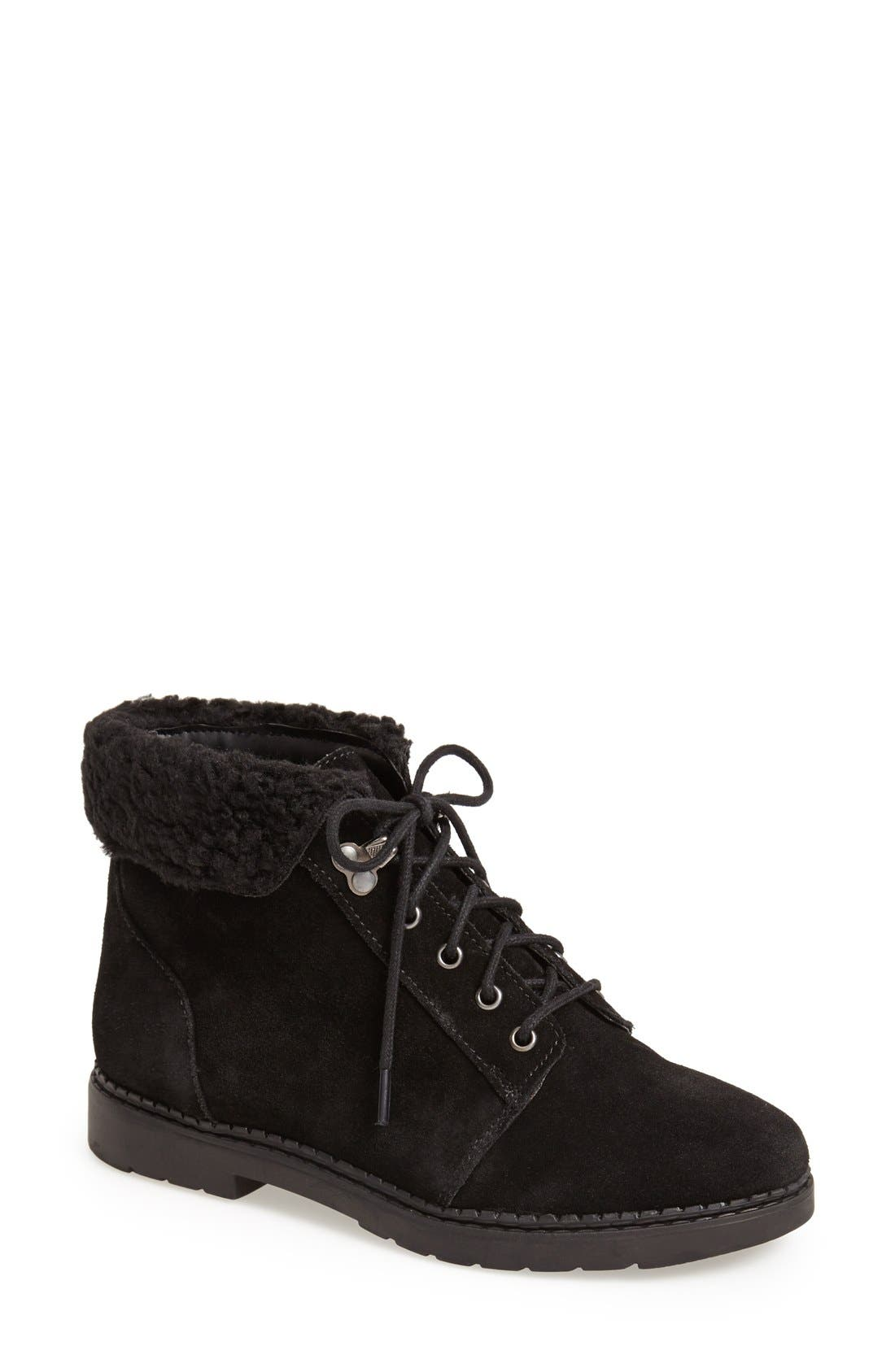 Alternate Image 1 Selected - Topshop 'Brody' Suede Ankle Boot (Women)