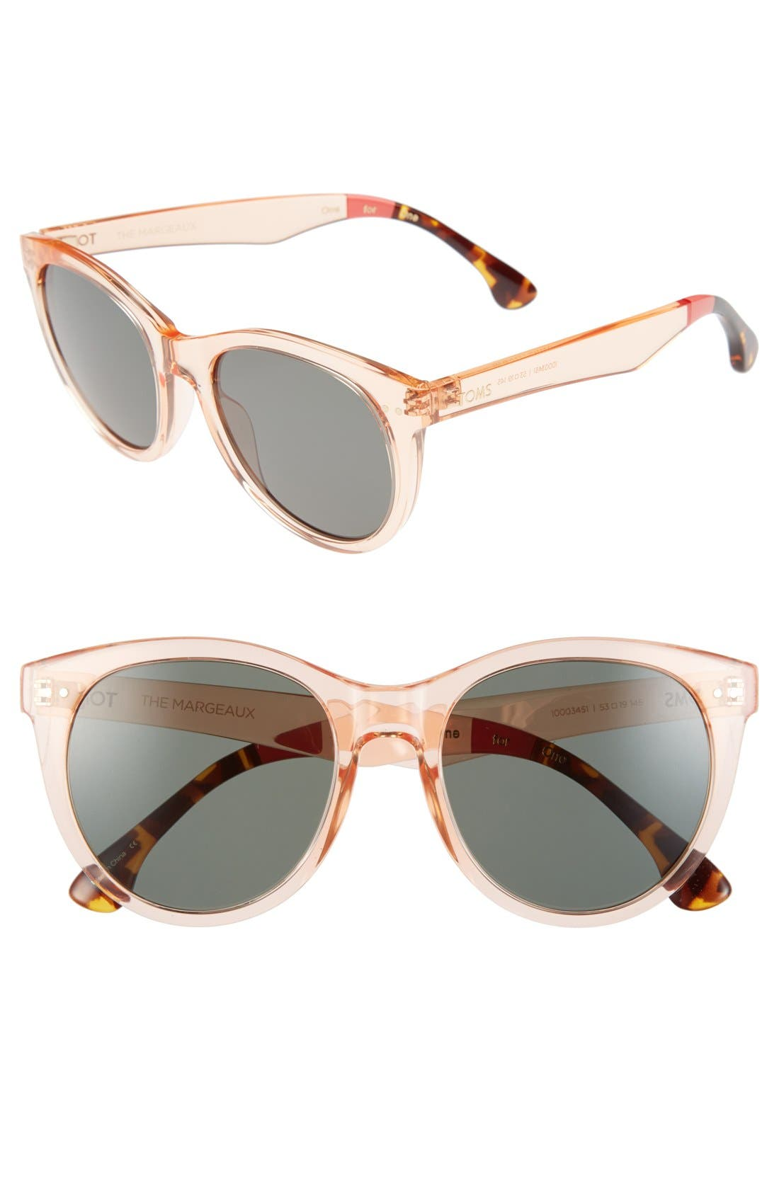 Alternate Image 1 Selected - TOMS 'Margeaux' 53mm Sunglasses