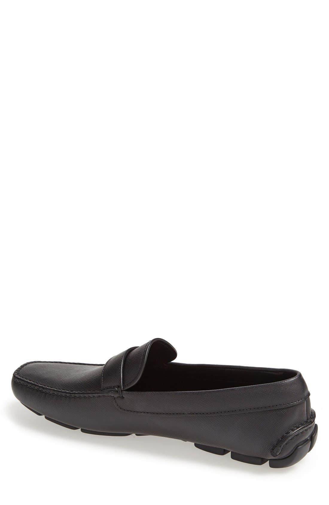 Alternate Image 2  - Prada Saffiano Leather Driving Shoe (Men)