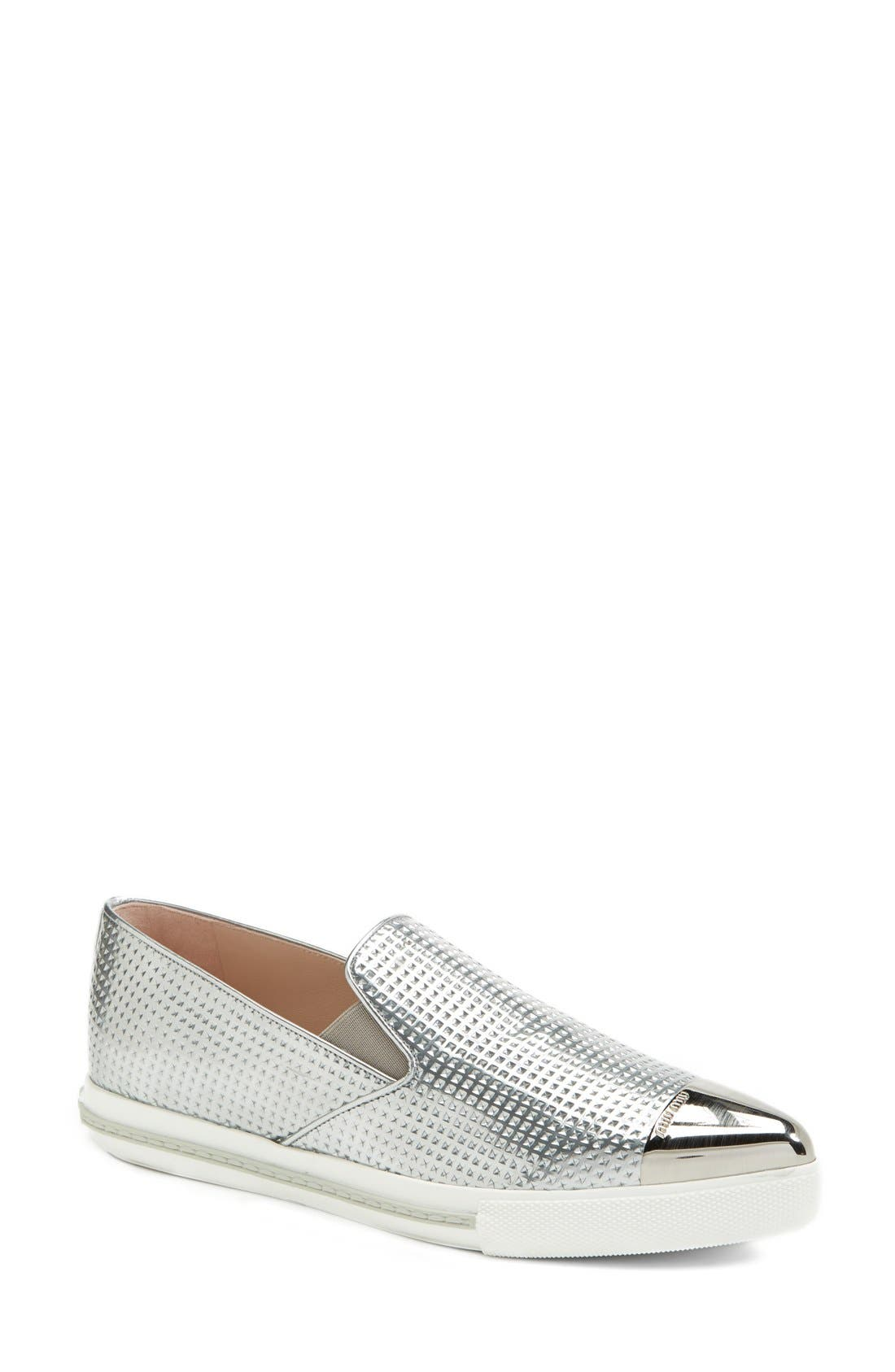 Alternate Image 1 Selected - Miu Miu Metal Sneaker (Women)
