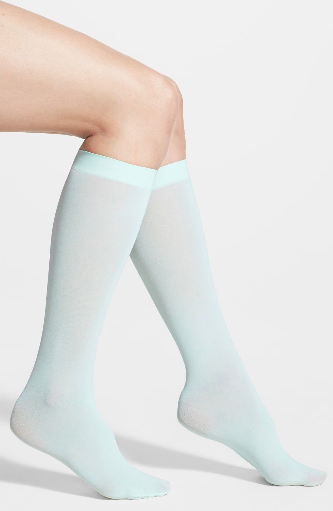 Alternate Image 1 Selected - DKNY Microfiber Knee Socks