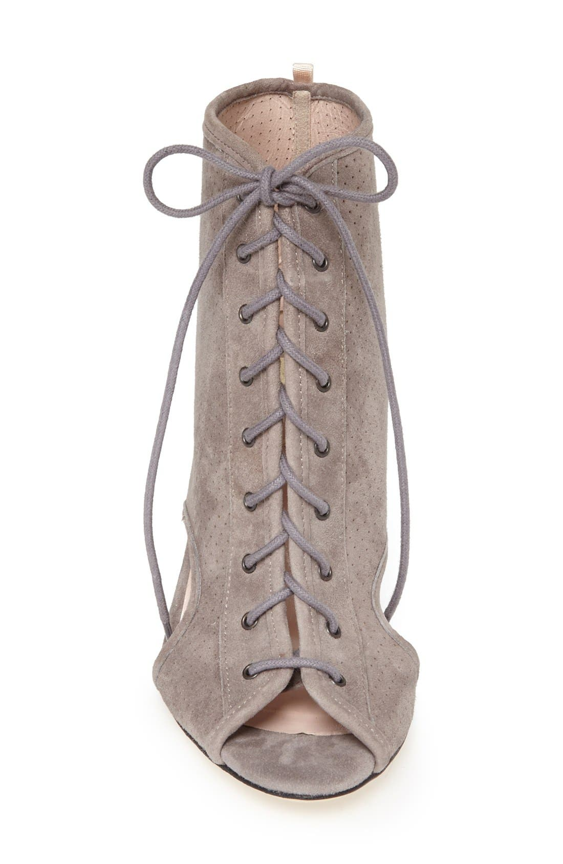 Alternate Image 3  - SJP 'Marci' Lace-Up Suede Bootie (Women)
