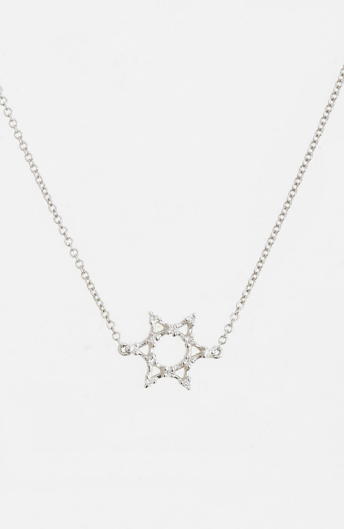 BONY LEVY Diamond Star of David Pendant Necklace