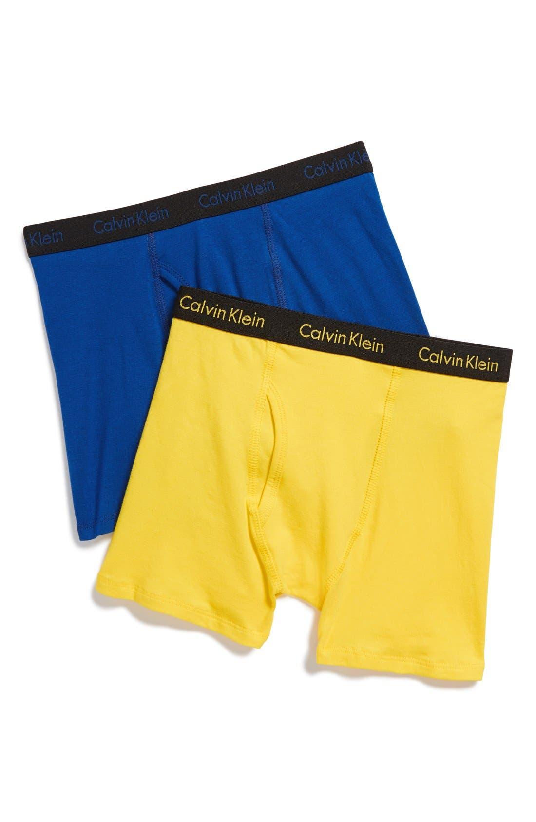calvin klein boys underwear