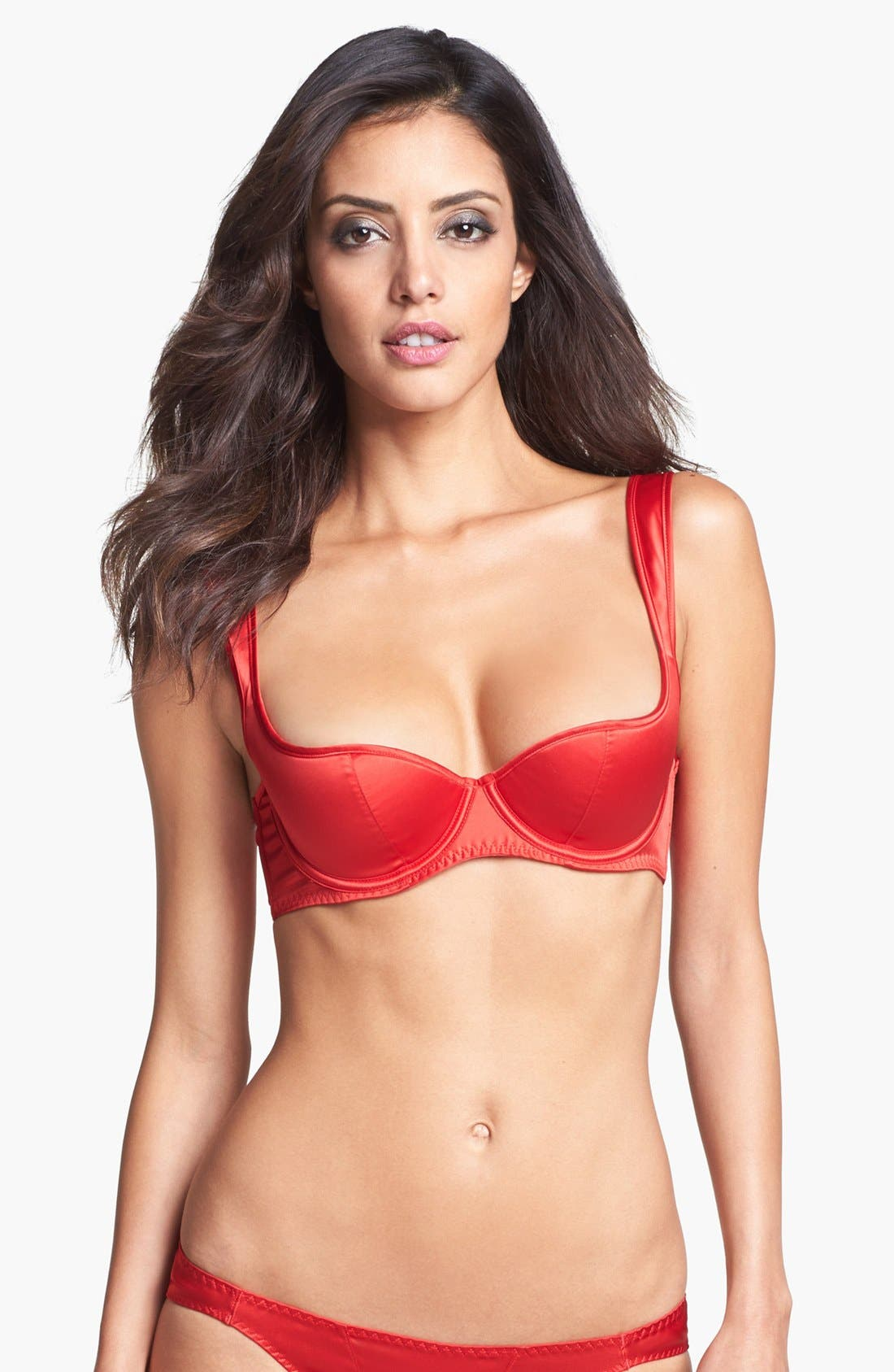 Alternate Image 1 Selected - L'Agent by Agent Provocateur 'Danita' Padded Underwire Demi Bra
