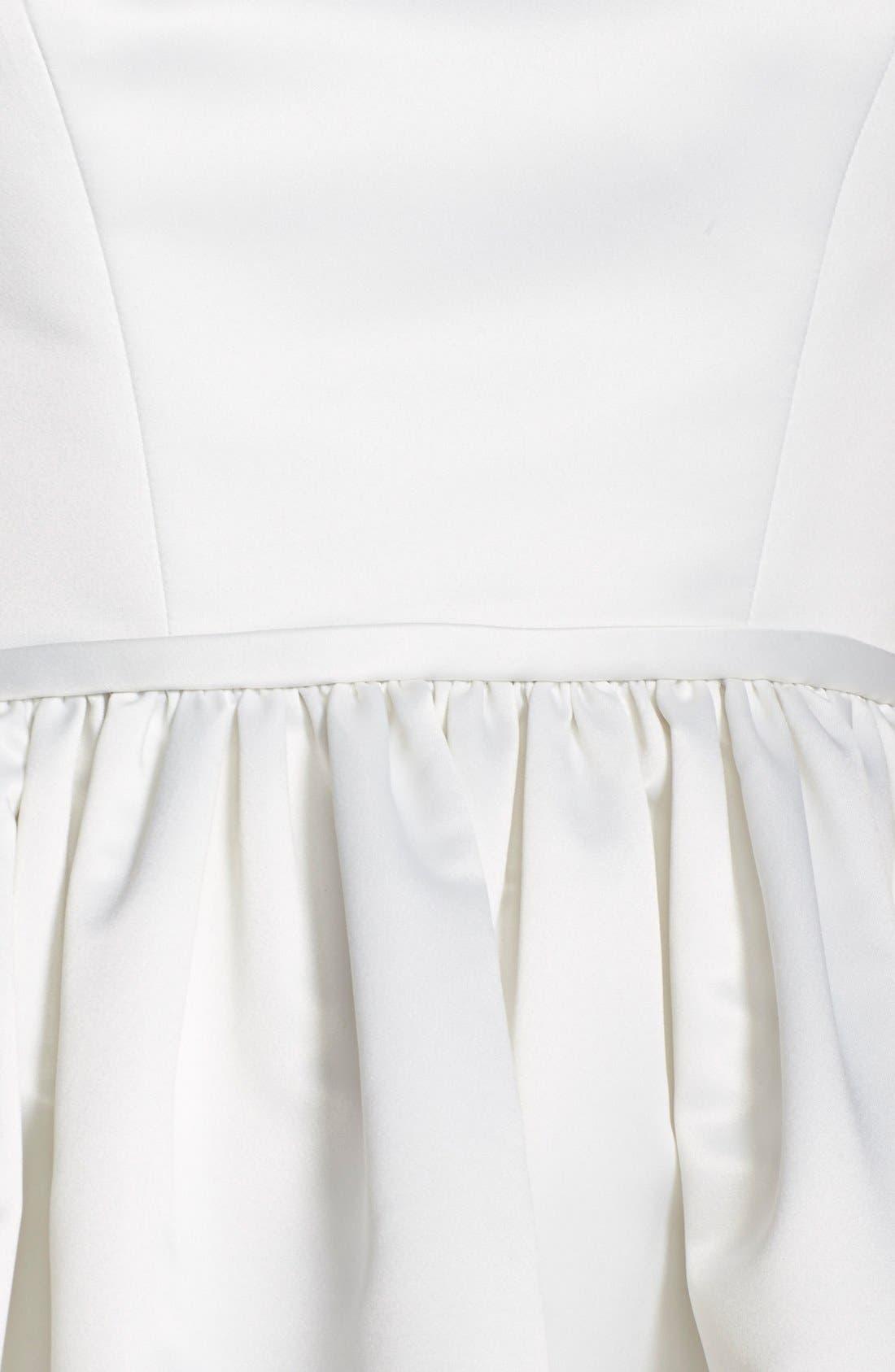 Alternate Image 3  - ERIN erin fetherston 'Savannah' Satin Fit & Flare Dress
