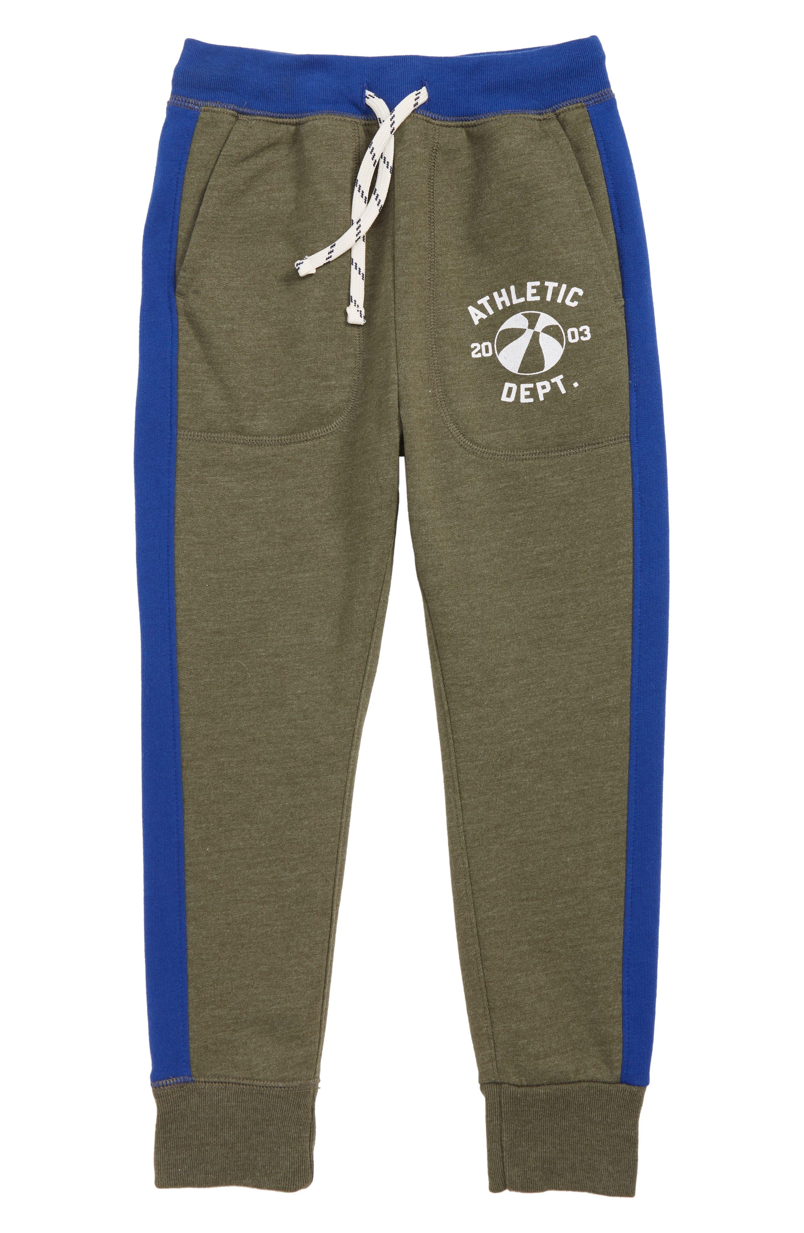 Boys Crewcuts By Jcrew Print Sweatpants Size 16  Green