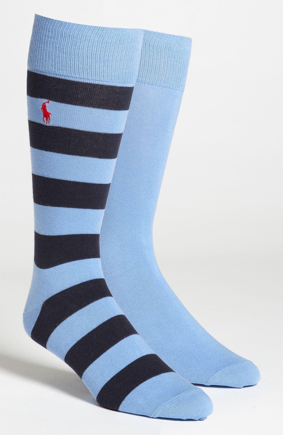Cotton Blend Socks,                             Main thumbnail 8, color,