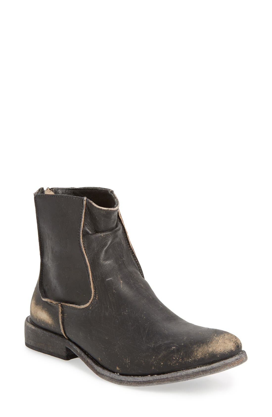 'Gerald' Distressed Bootie,                             Main thumbnail 1, color,