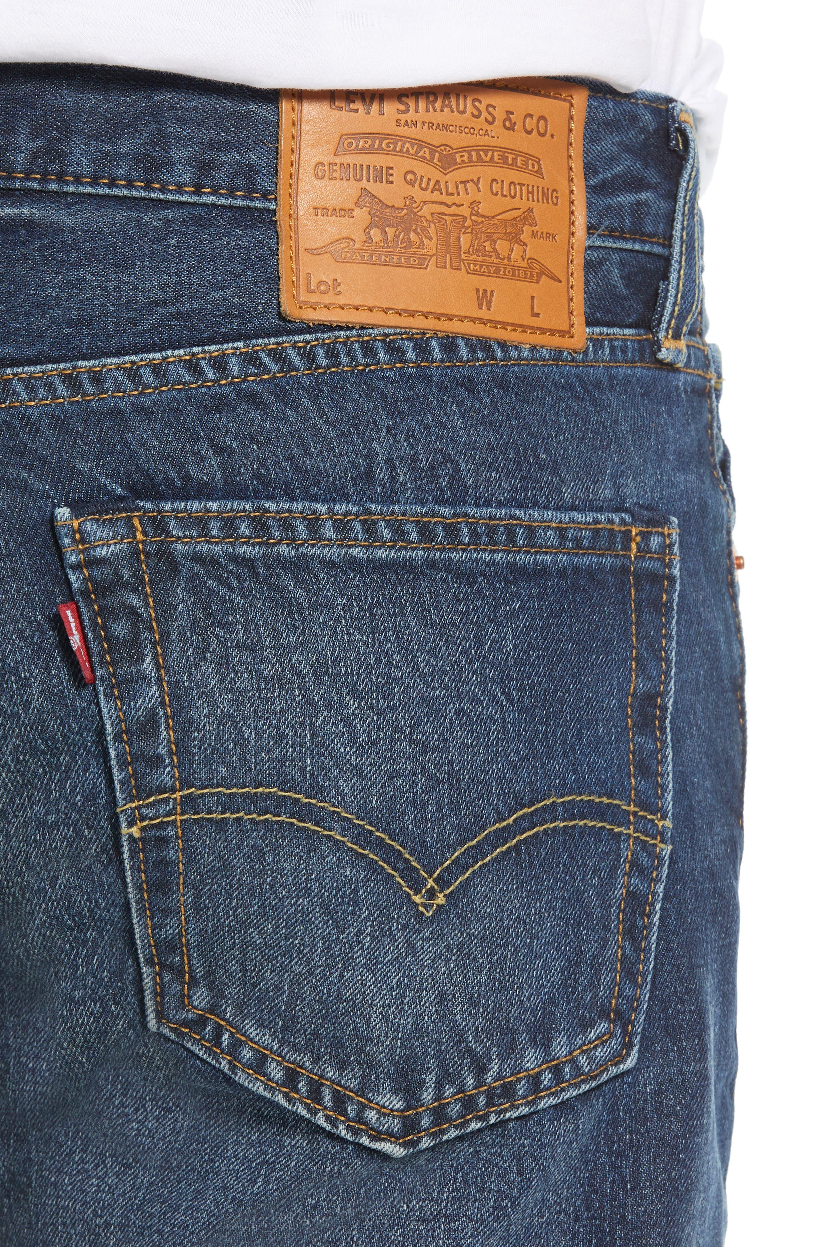 511<sup>™</sup> Slim Fit Jeans,                             Alternate thumbnail 4, color,                             SPLICED HEART WARP