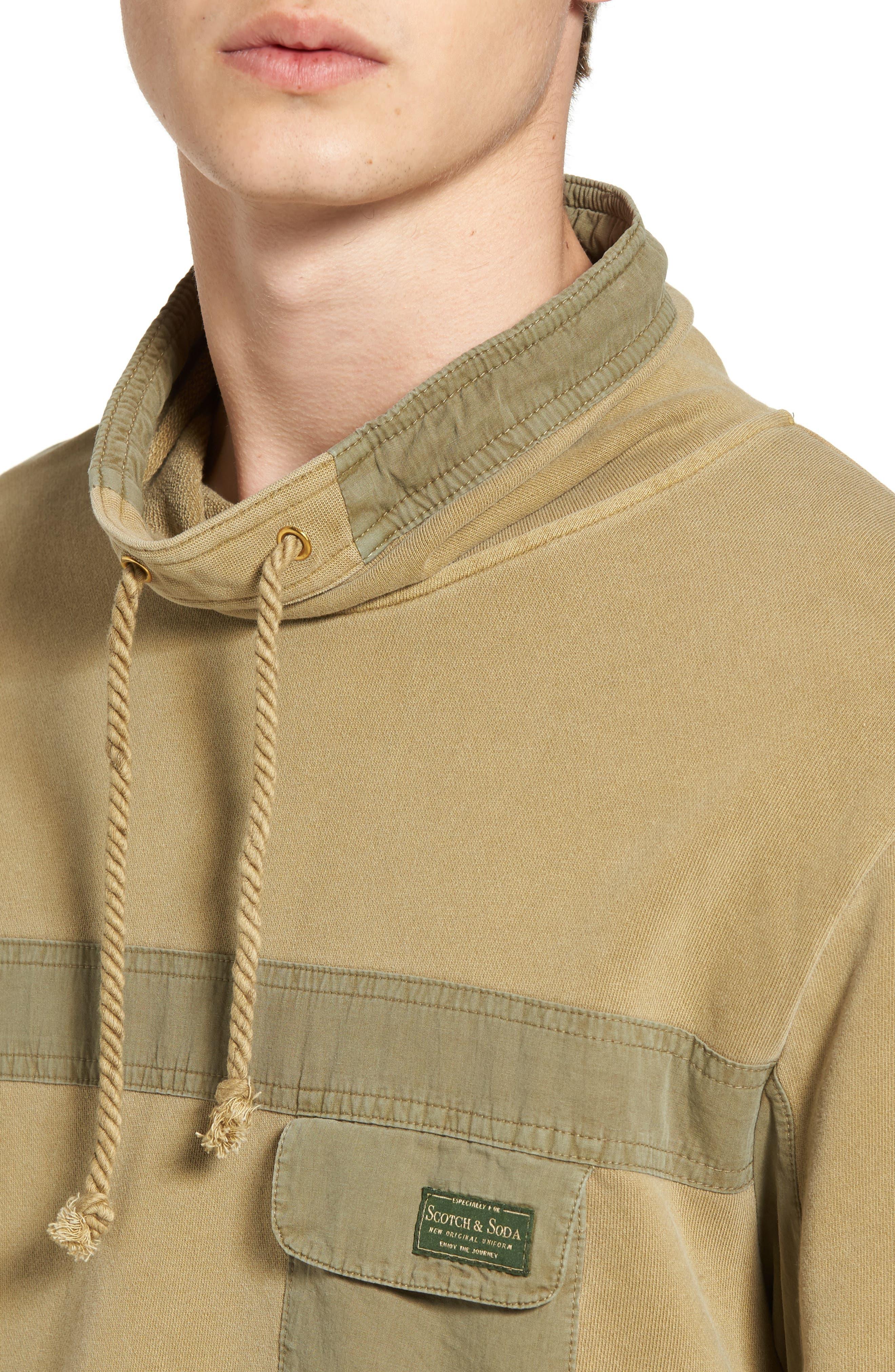 Garment Dyed Sweatshirt,                             Alternate thumbnail 4, color,                             700