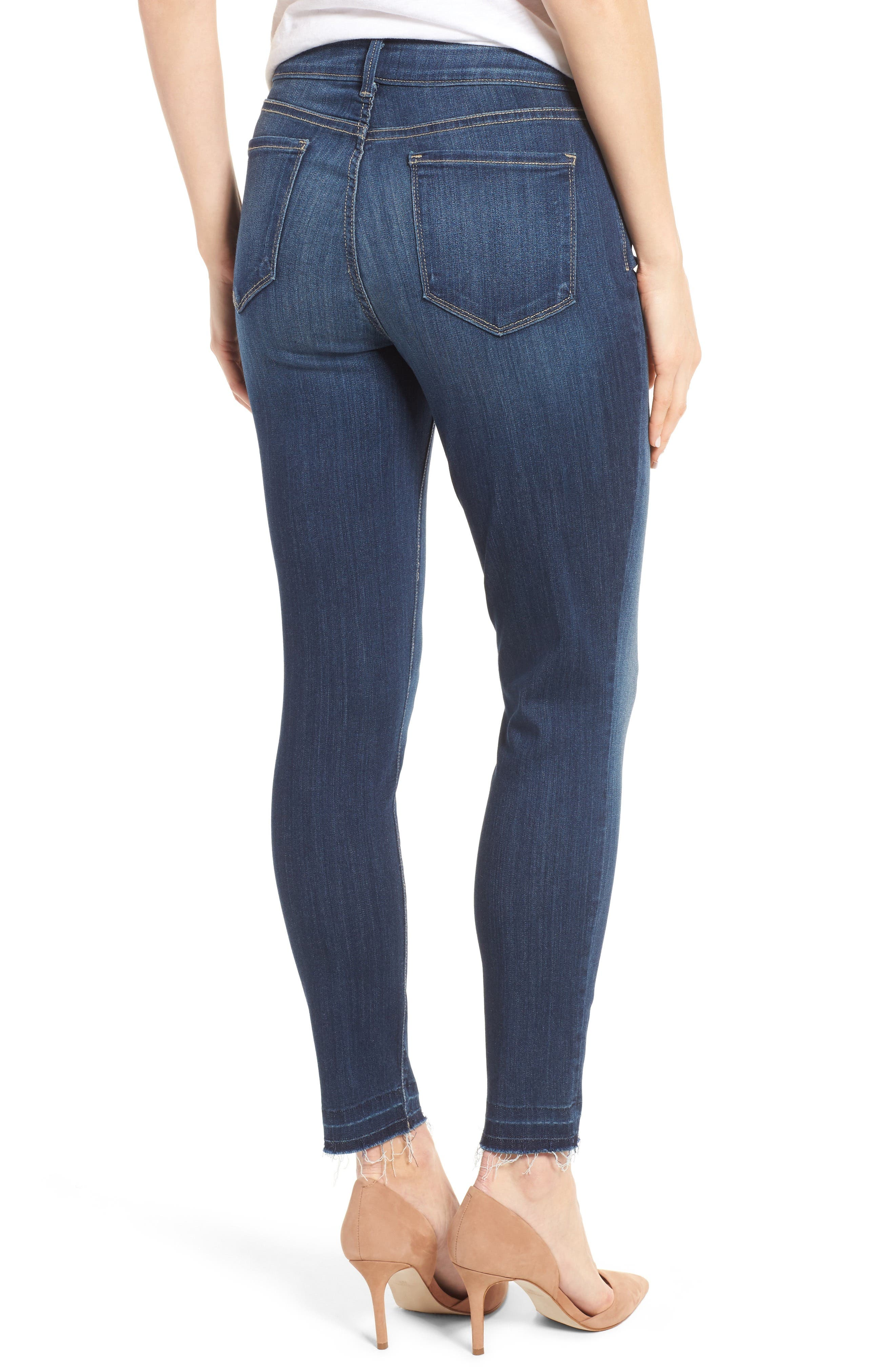 Ami Release Hem Stretch Skinny Jeans,                             Alternate thumbnail 2, color,                             428