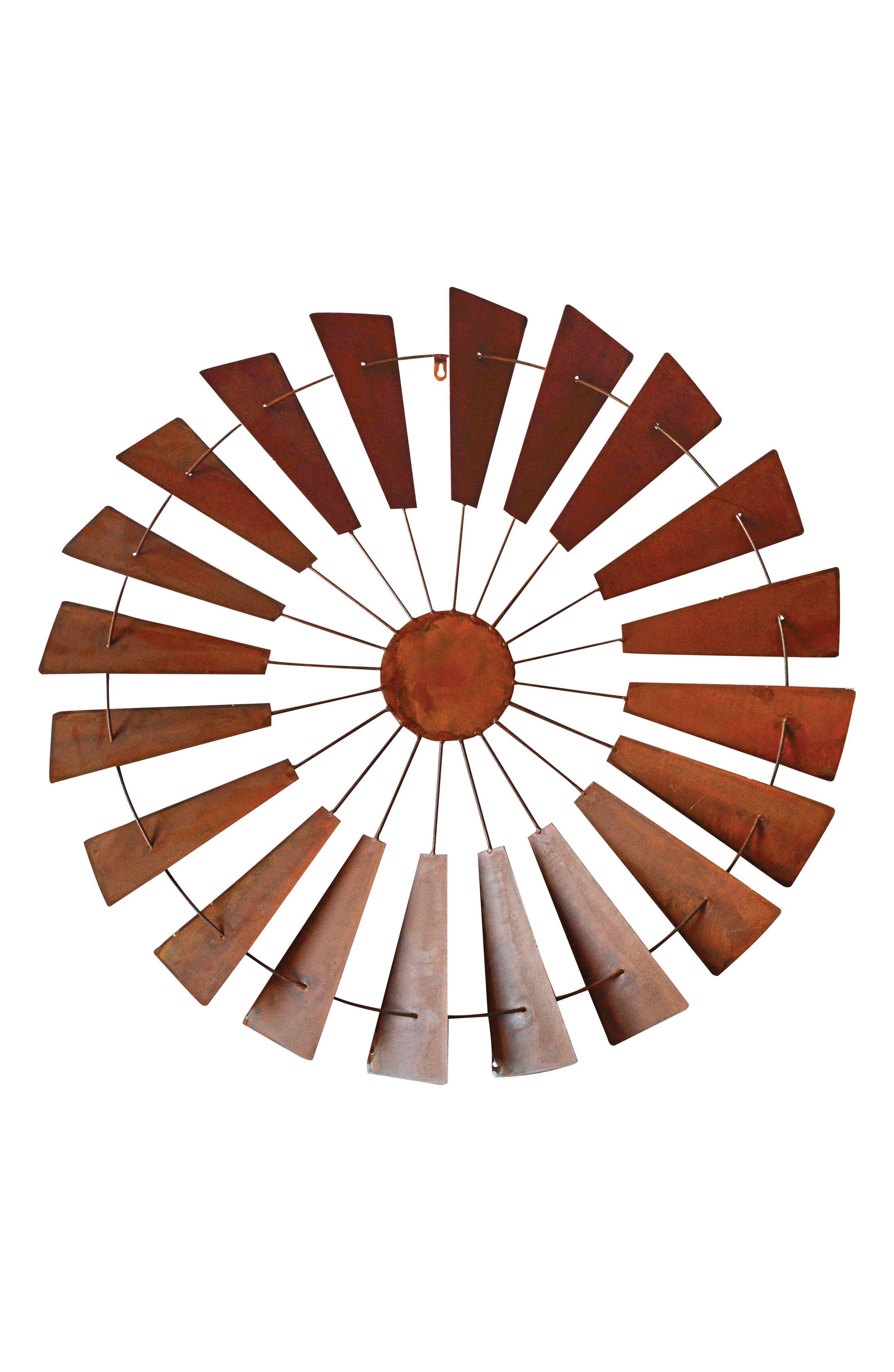 Windmill Wall Art,                         Main,                         color, METAL