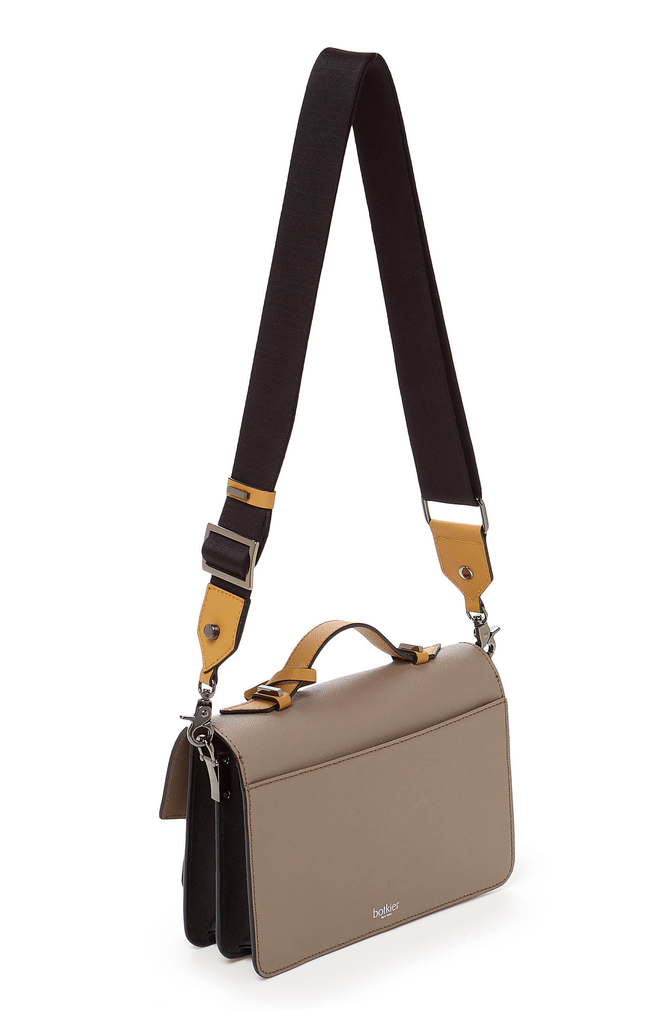 Cobble Hill Leather Crossbody Bag,                             Alternate thumbnail 142, color,