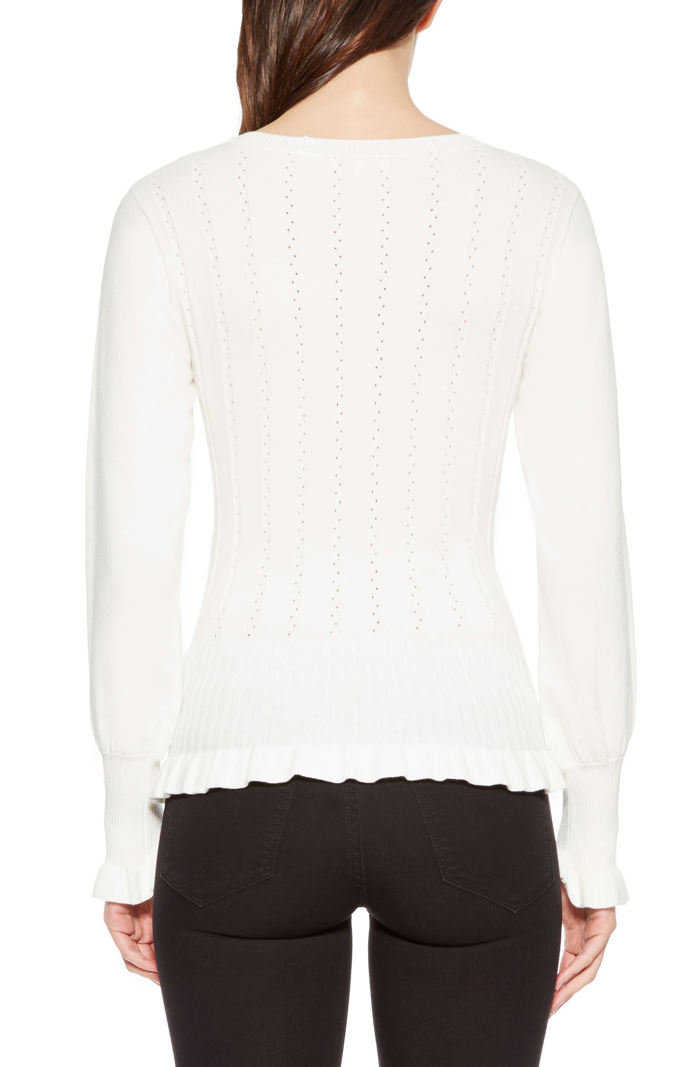 PARKER,                             Henri Blouson Sleeve Sweater,                             Alternate thumbnail 2, color,                             900