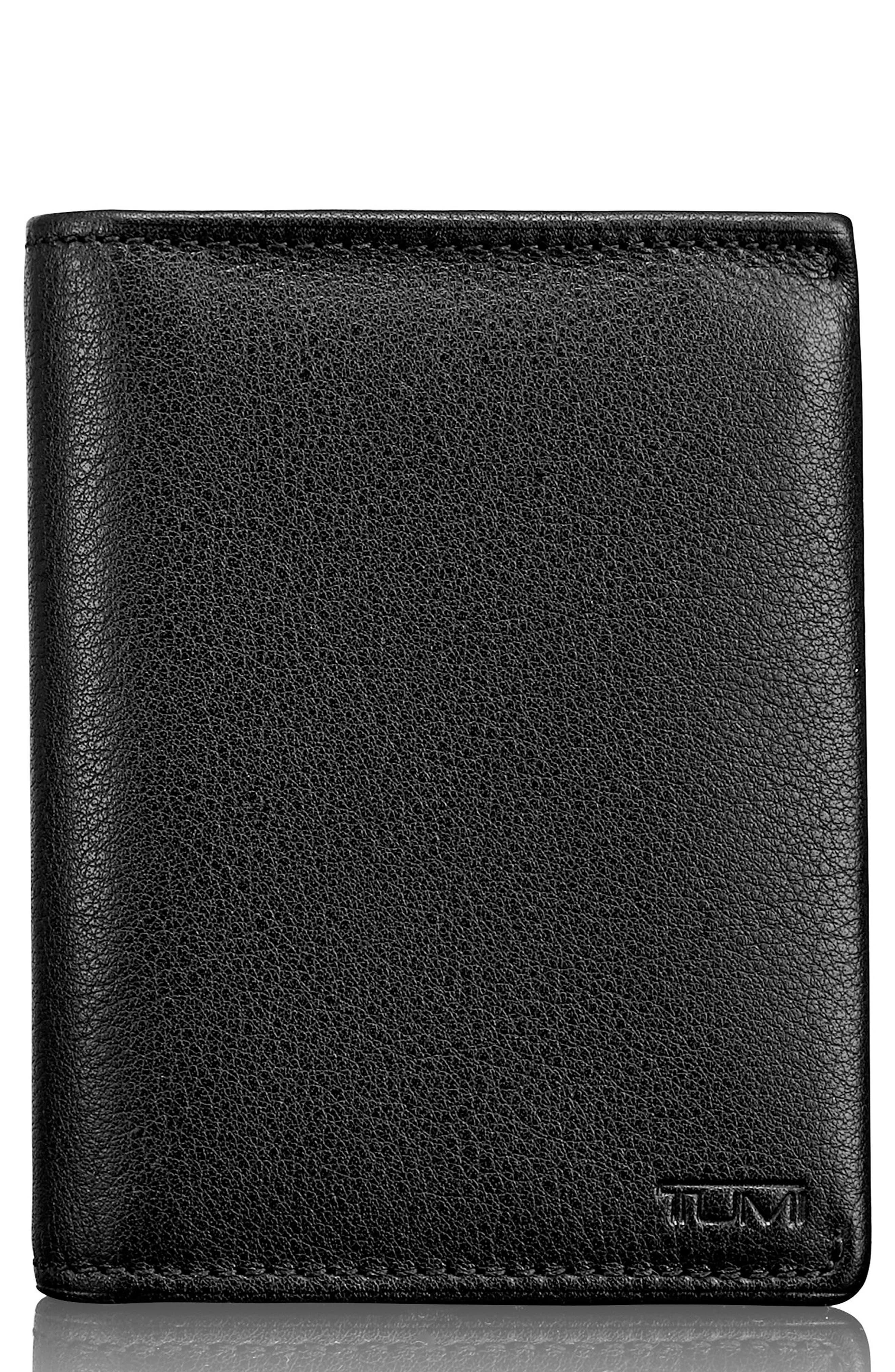 Leather L-Fold Wallet,                             Main thumbnail 1, color,                             011