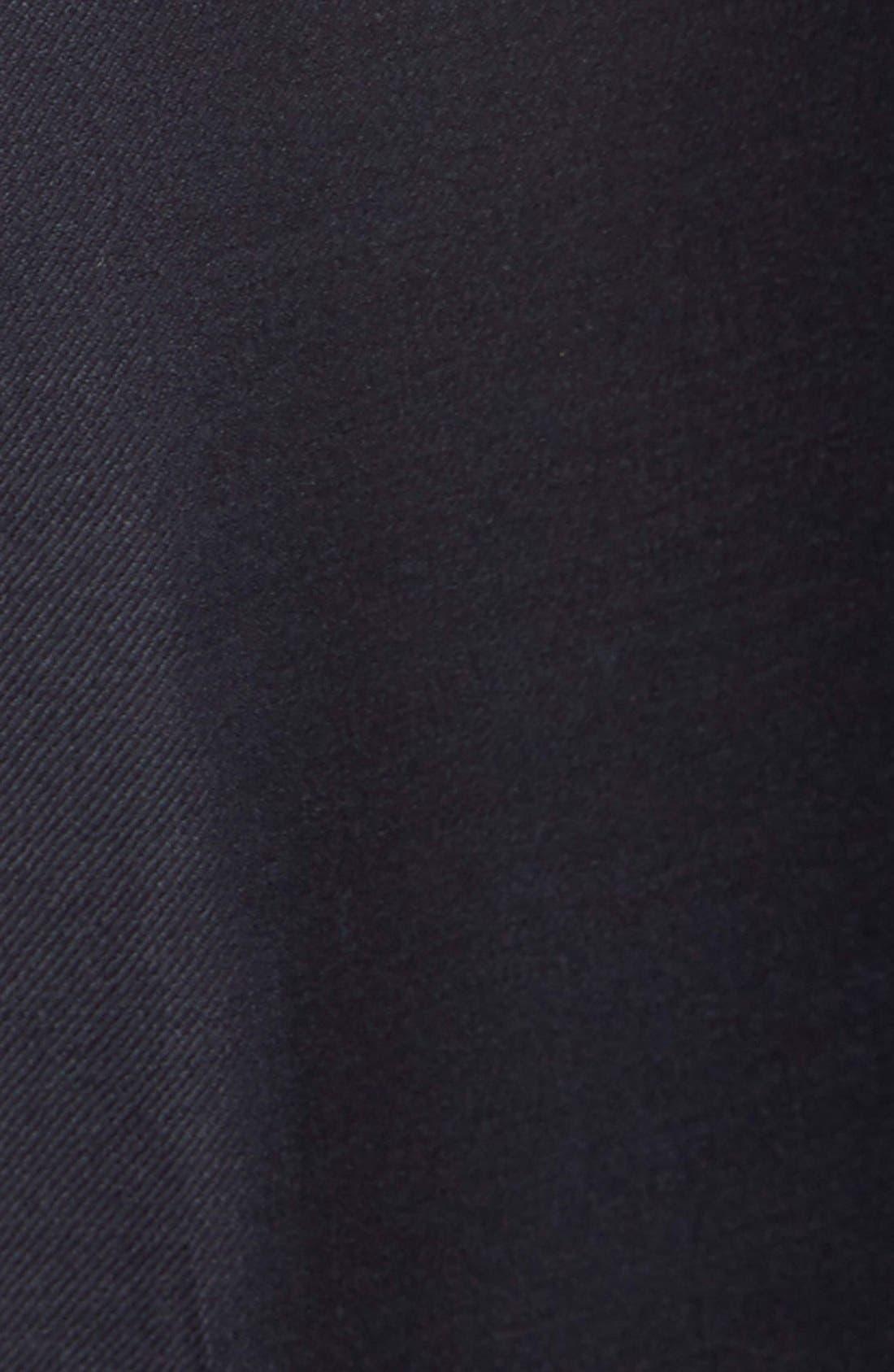Cummerbund & Pre-Tied Bow Tie Set,                             Alternate thumbnail 3, color,                             BLACK