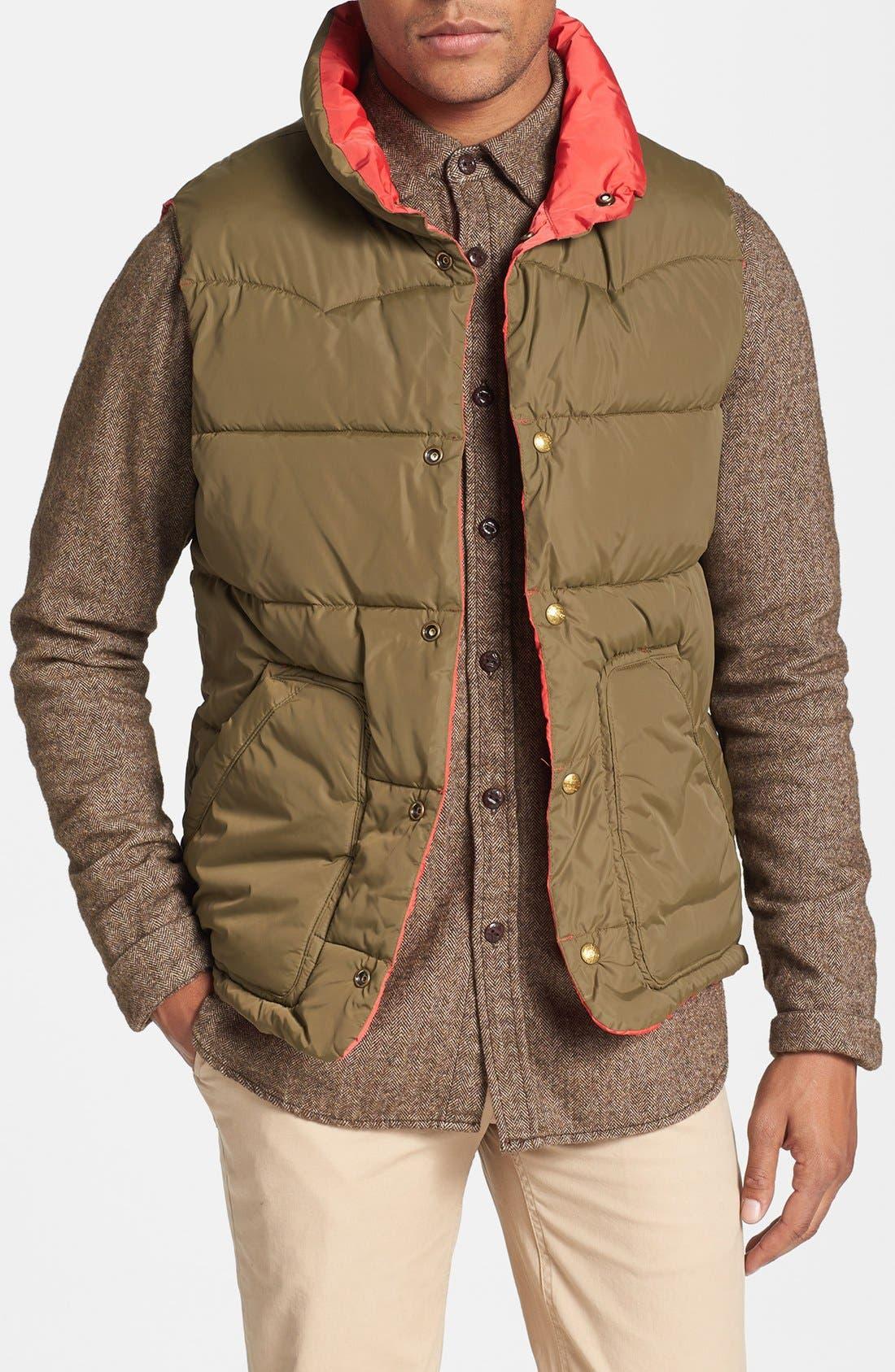 Reversible Quilted Vest,                             Alternate thumbnail 9, color,