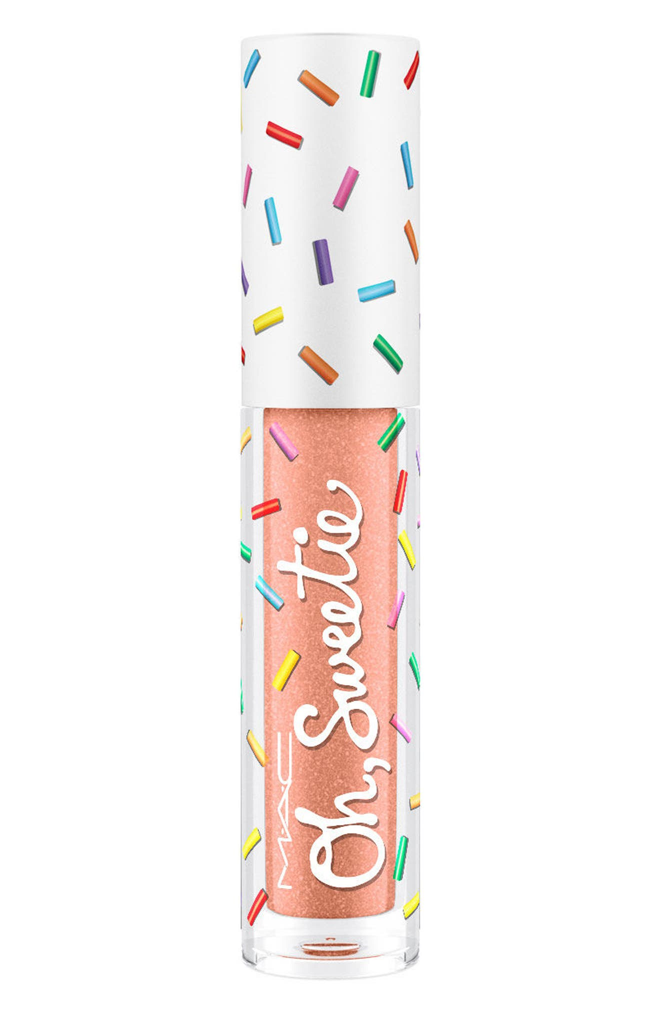 MAC Oh, Sweetie Lipcolor,                             Main thumbnail 1, color,                             COCONUT MACAROON