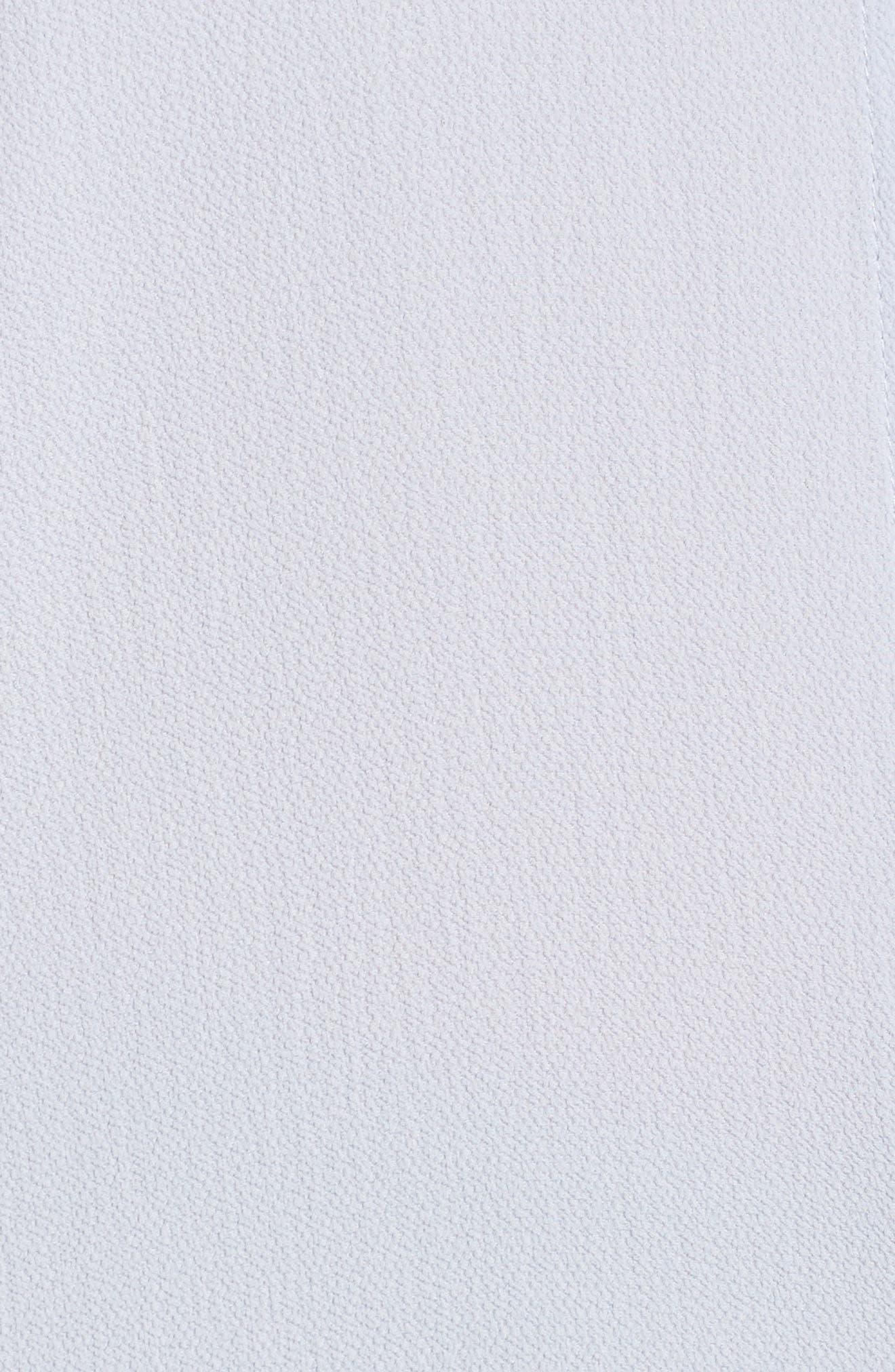 Drawstring Armhole Crepe Blouse,                             Alternate thumbnail 6, color,                             CROCUS PET