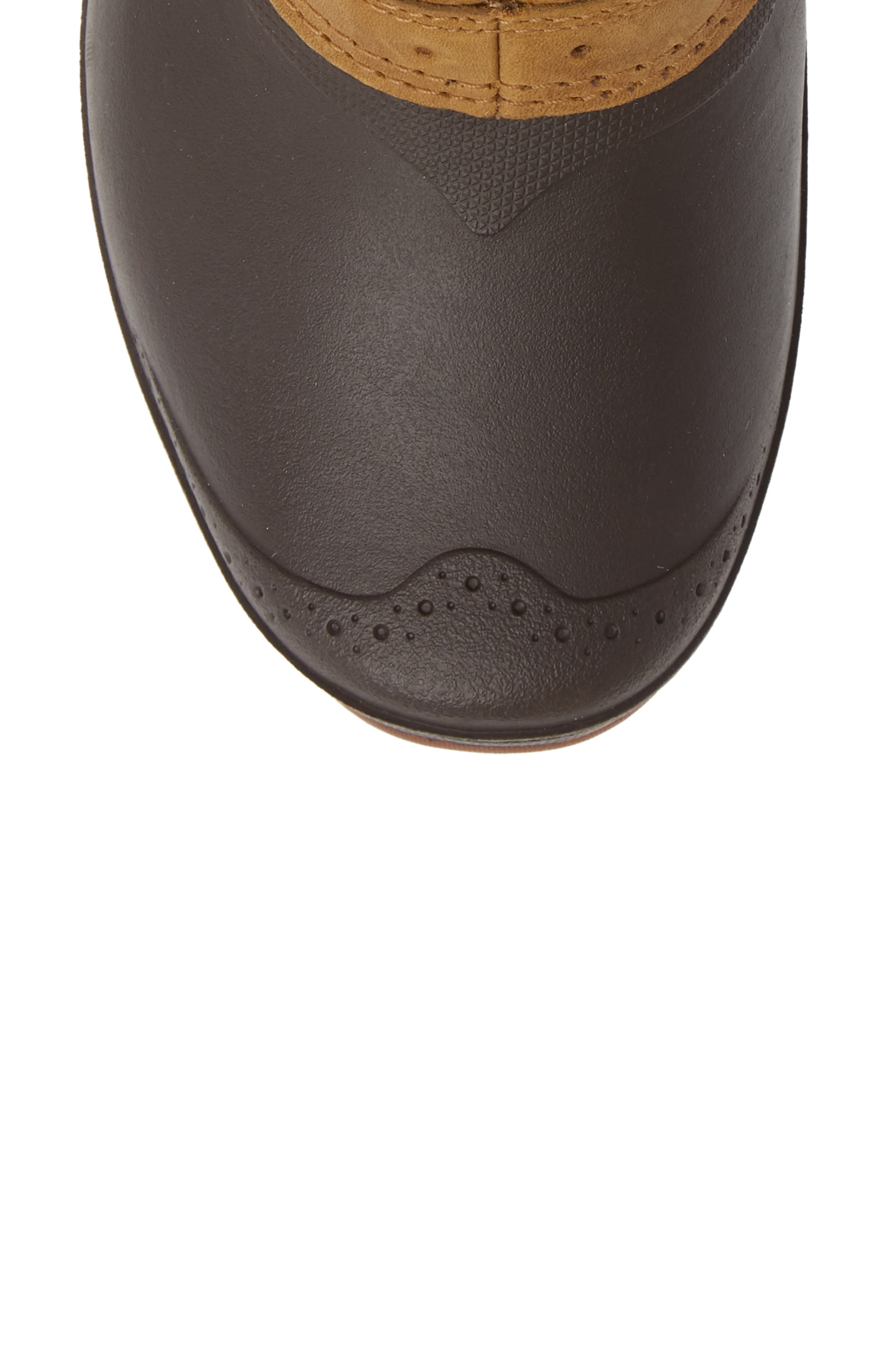 Shellista Roll Cuff Waterproof Insulated Winter Boot,                             Alternate thumbnail 5, color,                             GOLDEN BROWN/ COFFEE BROWN