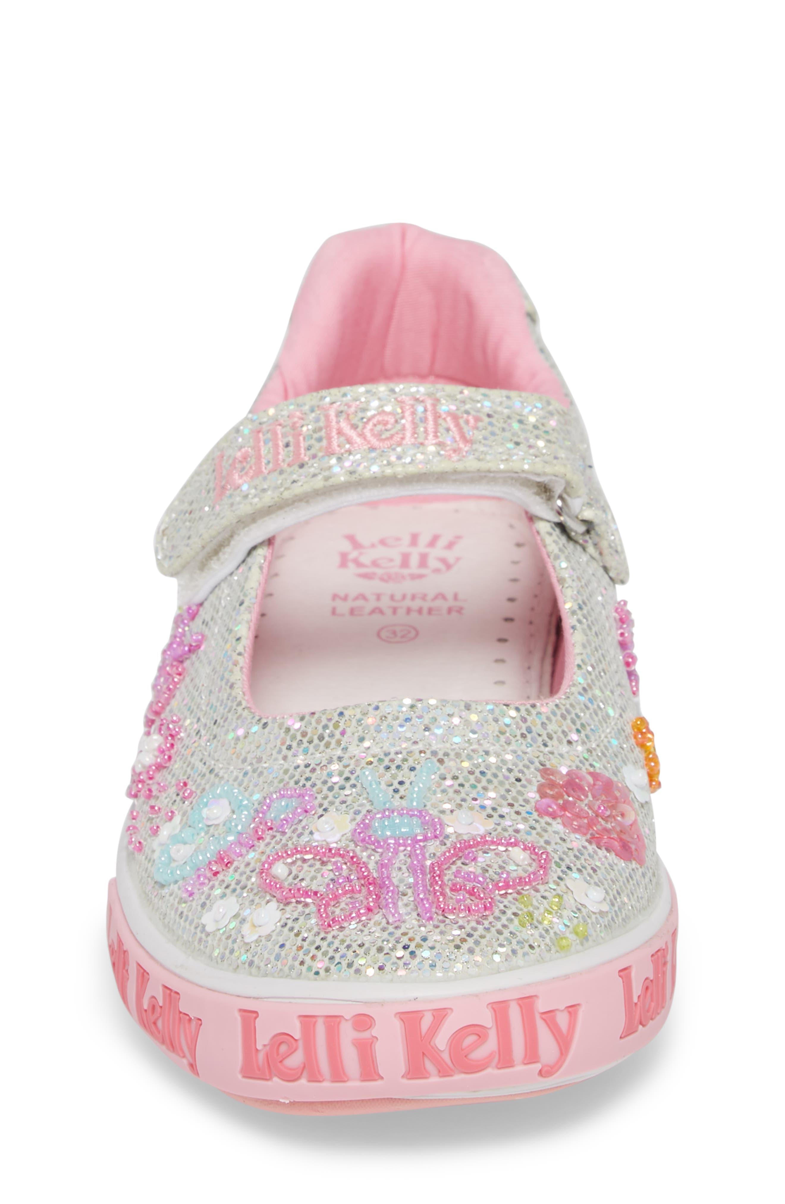 Beaded Mary Jane Sneaker,                             Alternate thumbnail 4, color,                             040