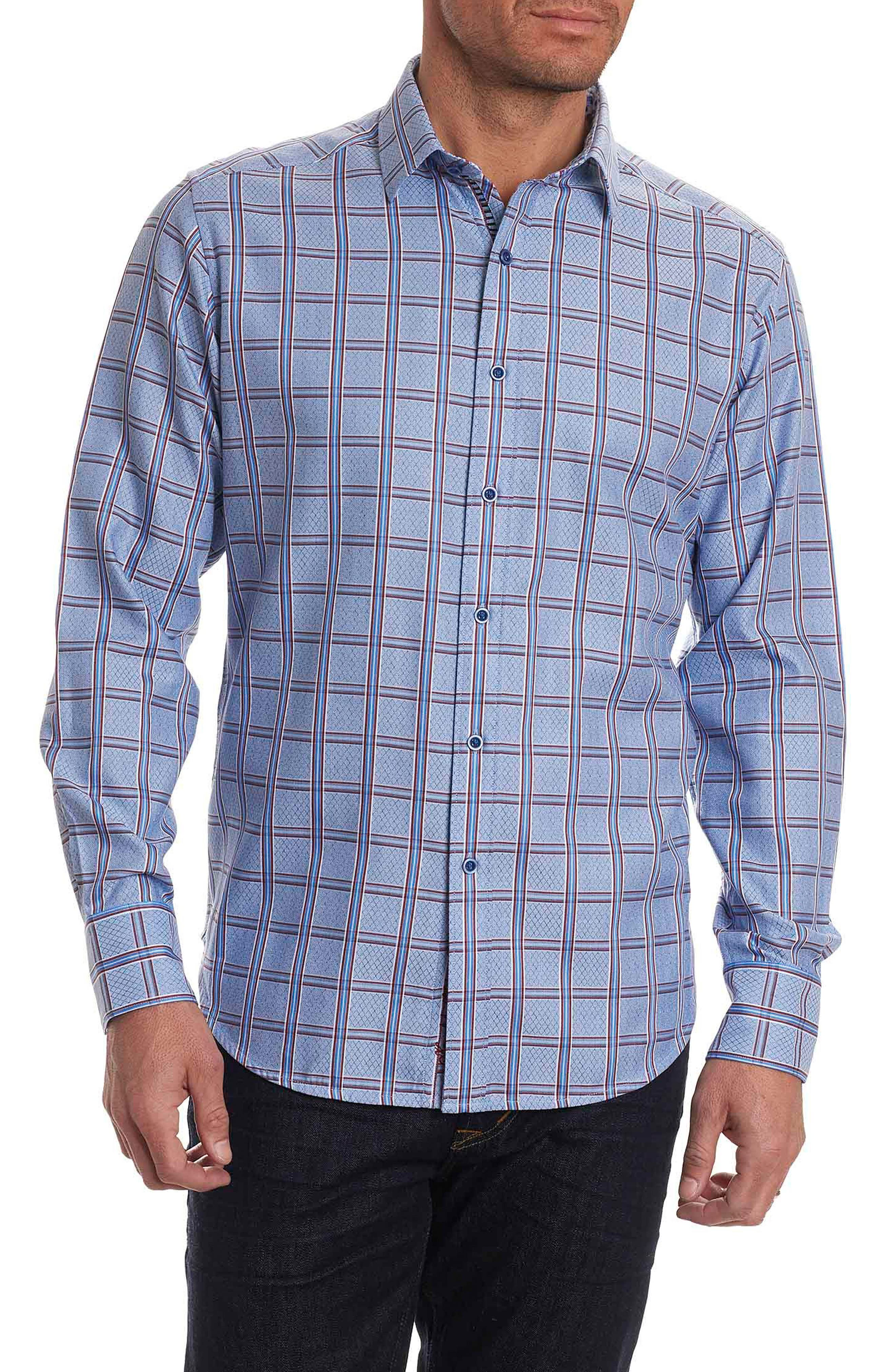 Jerold Print Sport Shirt,                             Main thumbnail 1, color,                             400