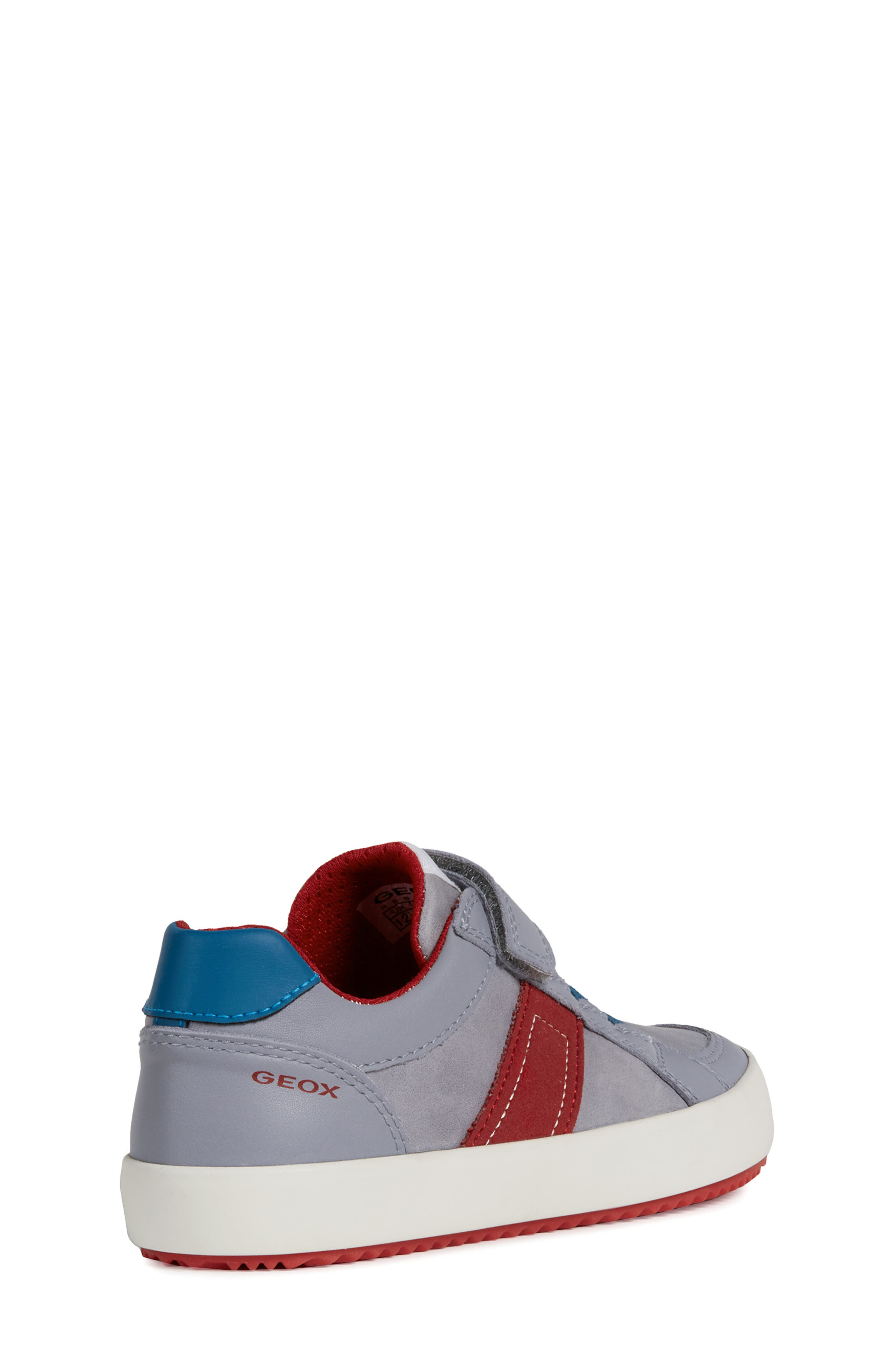 Alonisso Low Top Sneaker,                             Alternate thumbnail 7, color,                             GREY/ RED
