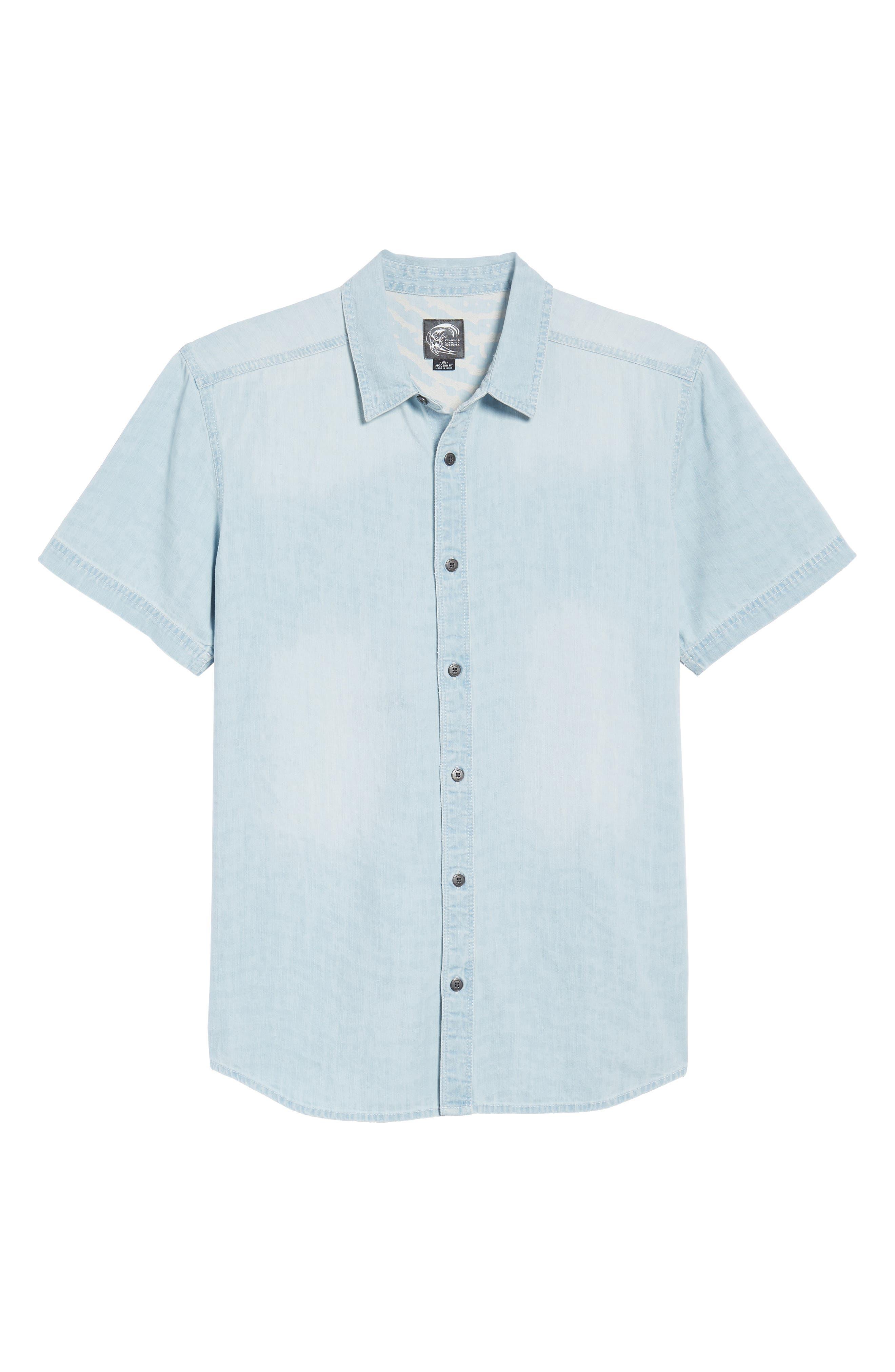 Sabotage Woven Shirt,                             Alternate thumbnail 6, color,                             020