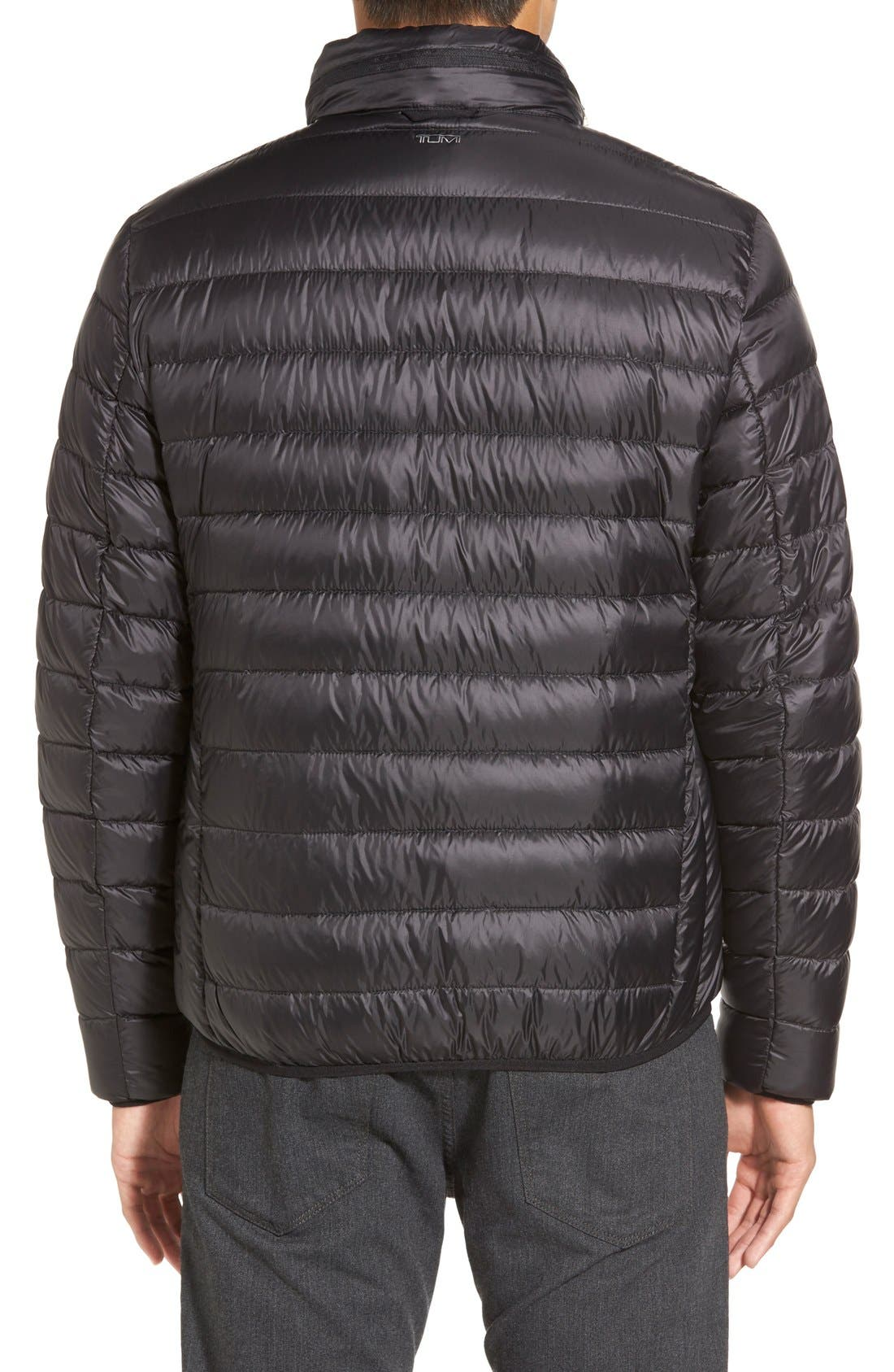 Pax Packable Quilted Jacket,                             Alternate thumbnail 6, color,                             001