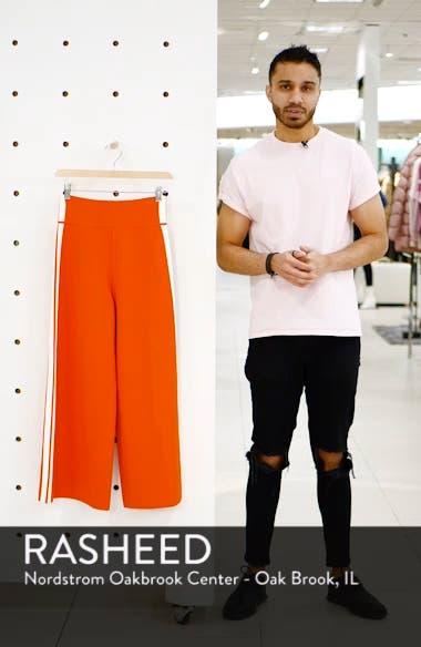 Roland Side Stripe Wide Leg Pants, sales video thumbnail
