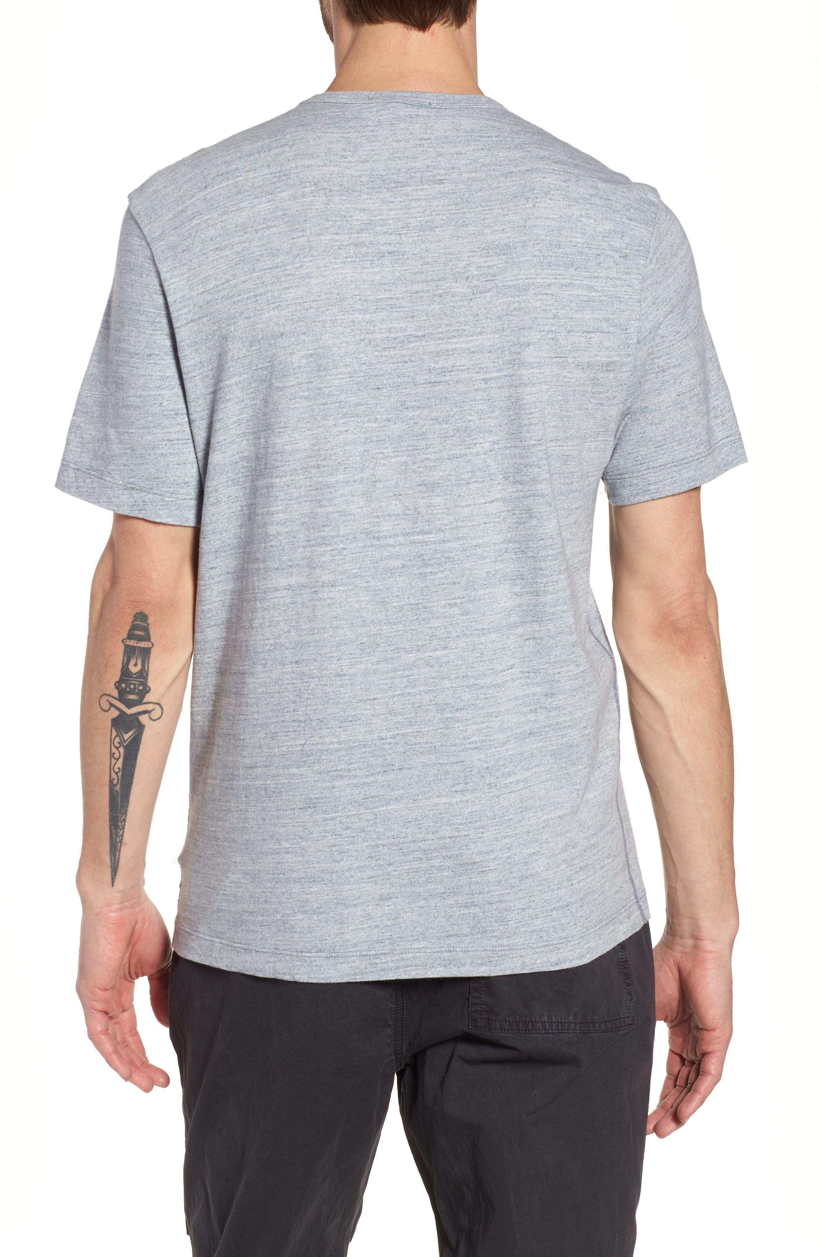 Regular Fit Top Dyed Crewneck T-Shirt,                             Alternate thumbnail 5, color,