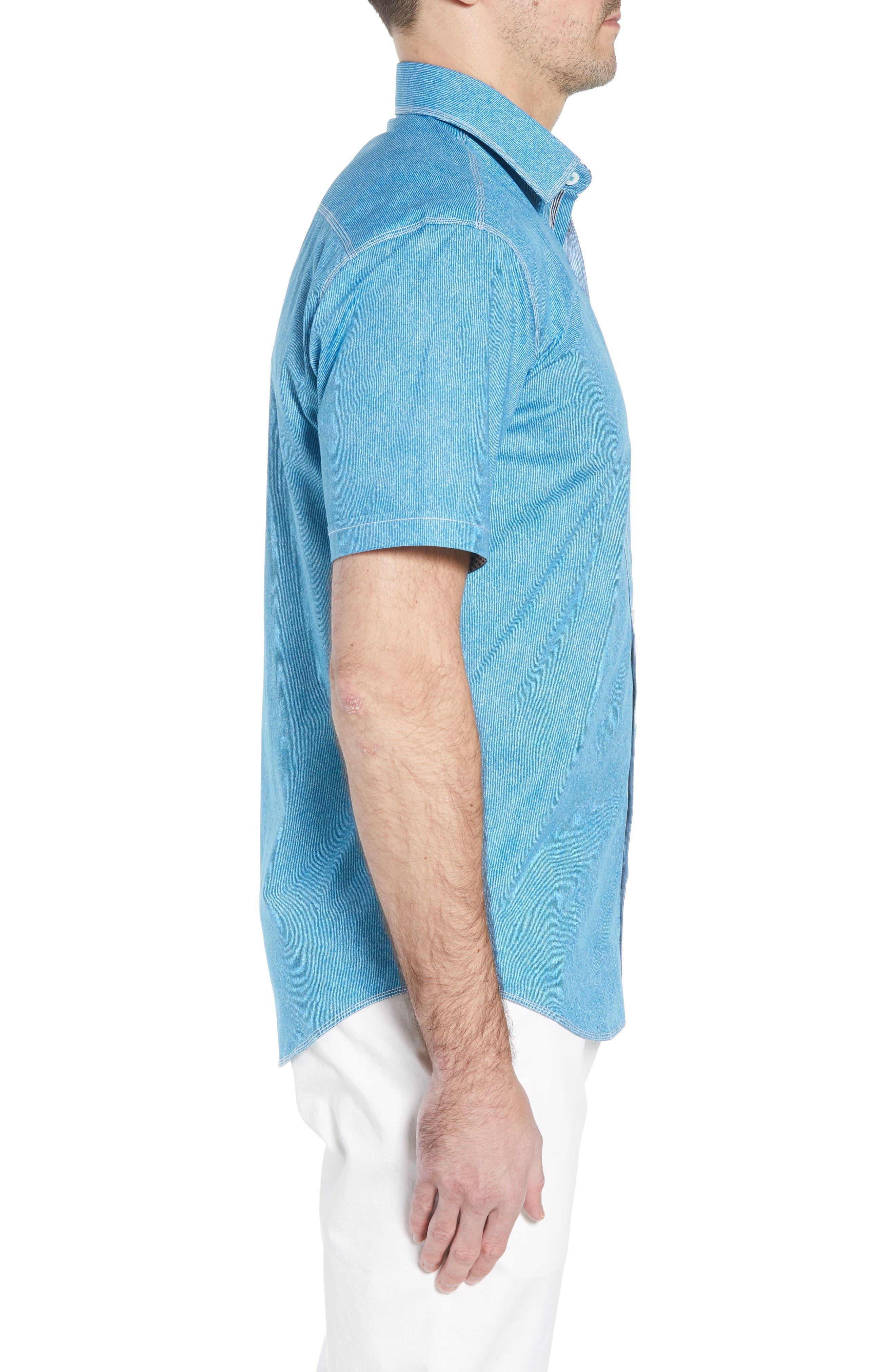 Shaped Fit Sport Shirt,                             Alternate thumbnail 9, color,