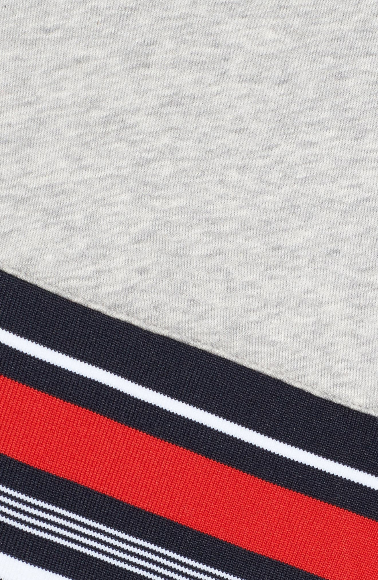 x Gigi Hadid Racing Sweatshirt Dress,                             Alternate thumbnail 5, color,                             405