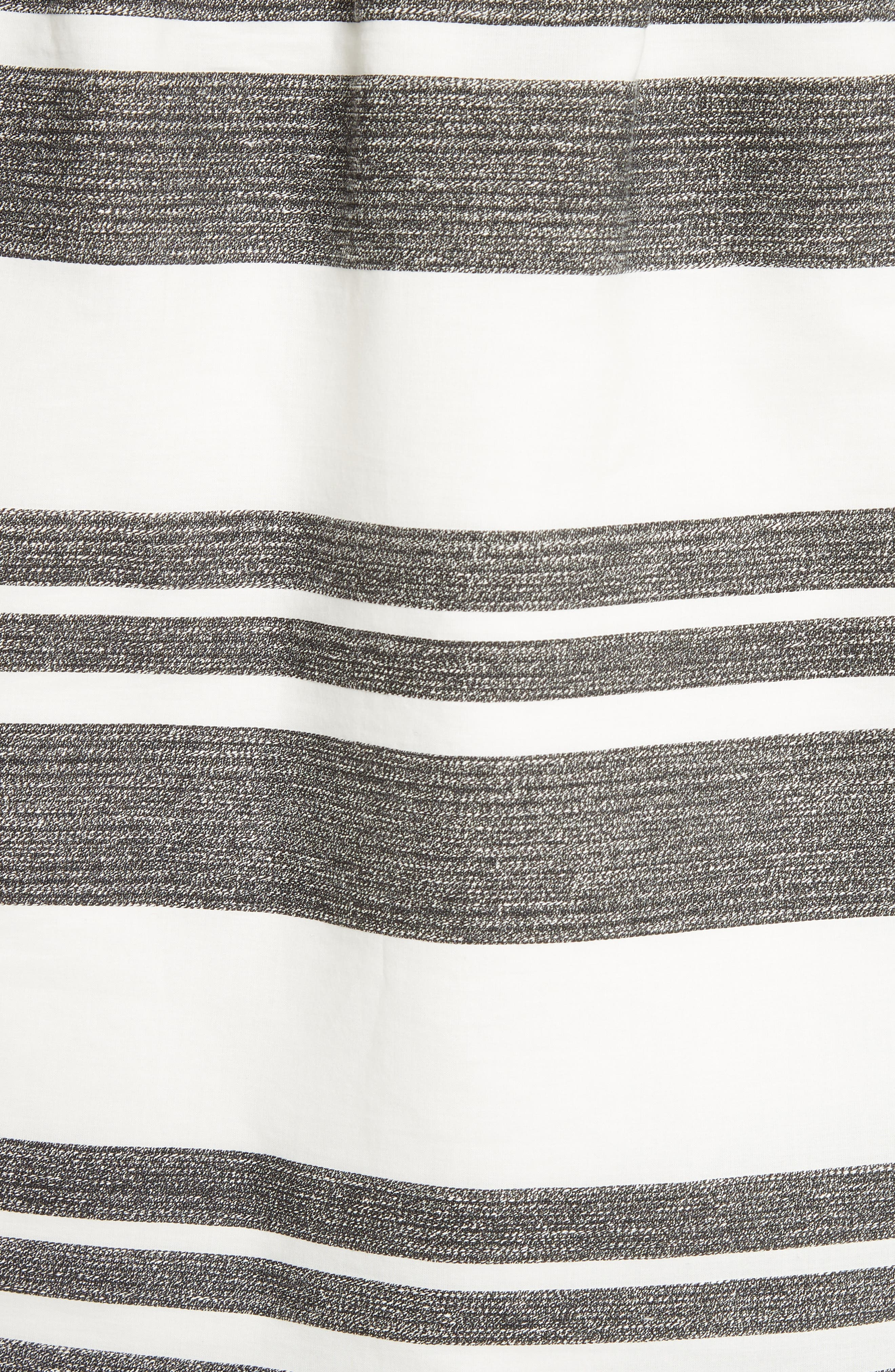 Organza Stripe Off the Shoulder Top,                             Alternate thumbnail 5, color,                             900
