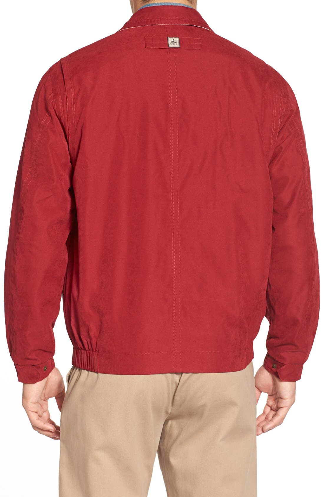 'Microseta' Lightweight Golf Jacket,                             Alternate thumbnail 18, color,