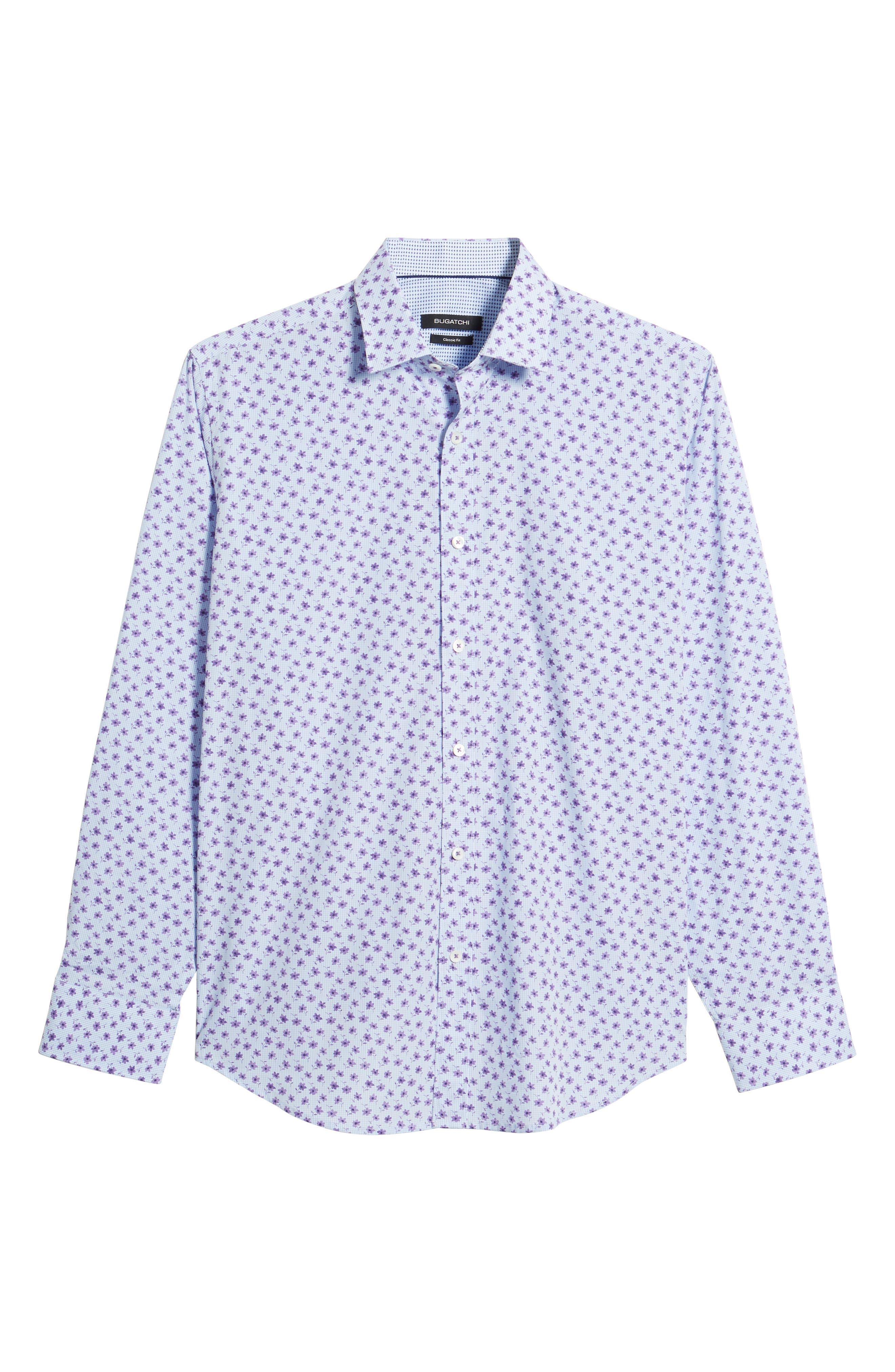 Classic Fit Woven Sport Shirt,                             Alternate thumbnail 6, color,                             503