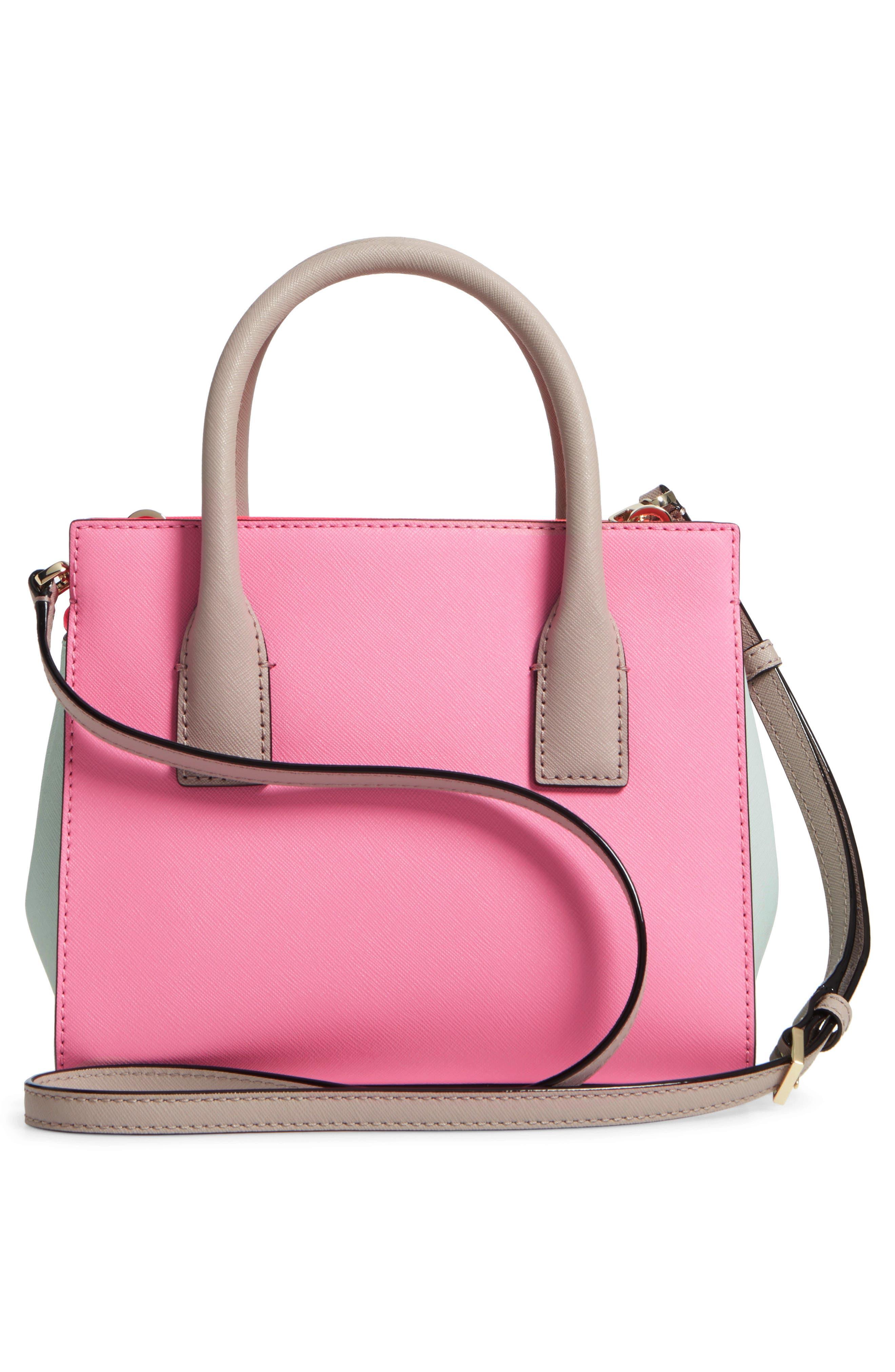 'cameron street - mini candace' leather satchel,                             Alternate thumbnail 3, color,                             690