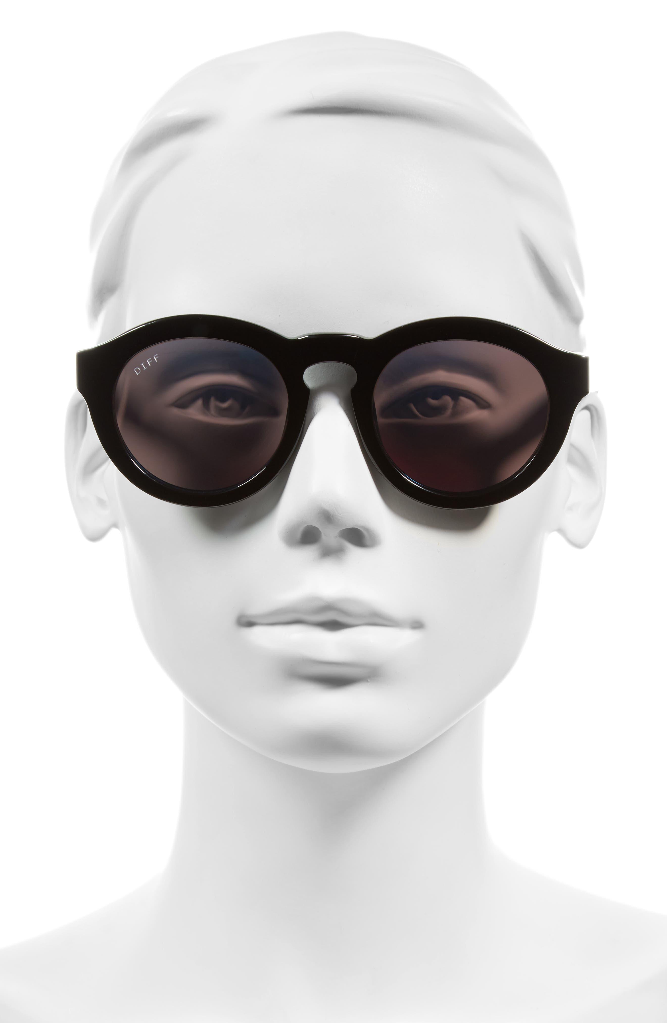 Dime 48mm Retro Sunglasses,                             Alternate thumbnail 19, color,