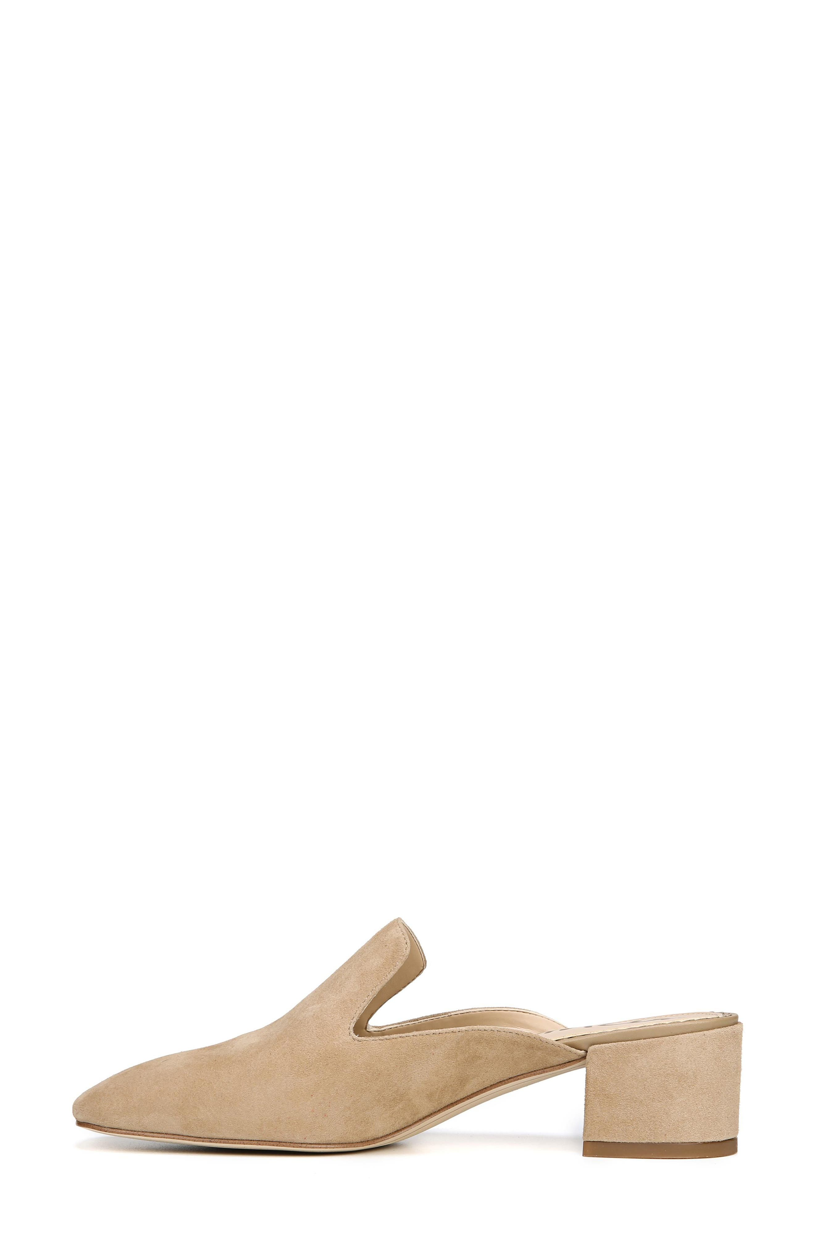 Adair Loafer Mule,                             Alternate thumbnail 8, color,                             OATMEAL LEATHER