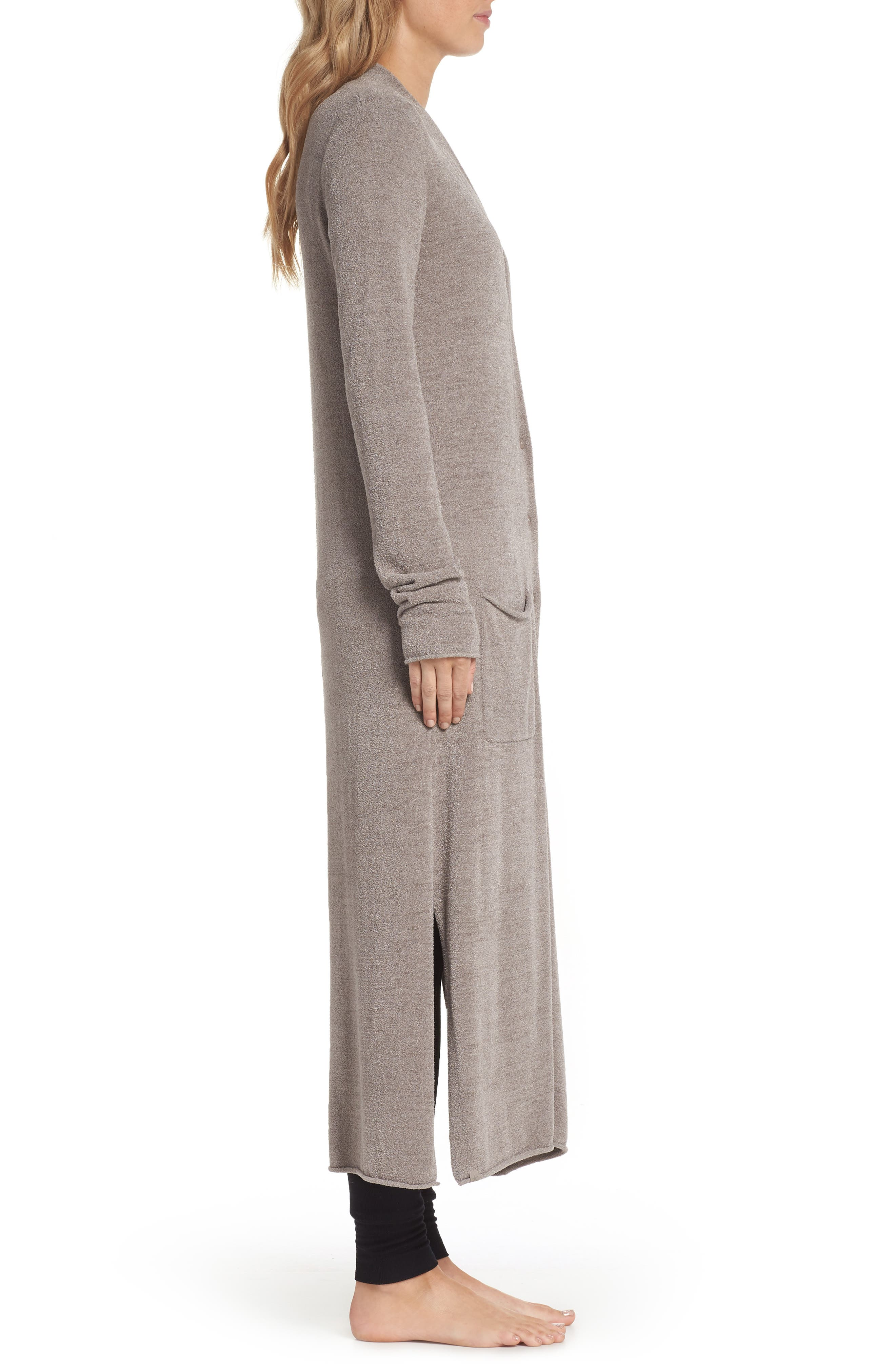 BAREFOOT DREAMS<SUP>®</SUP>,                             Barefoot Dreams Cozychic Ultra Lite<sup>®</sup> Duster,                             Alternate thumbnail 3, color,                             BEACH ROCK