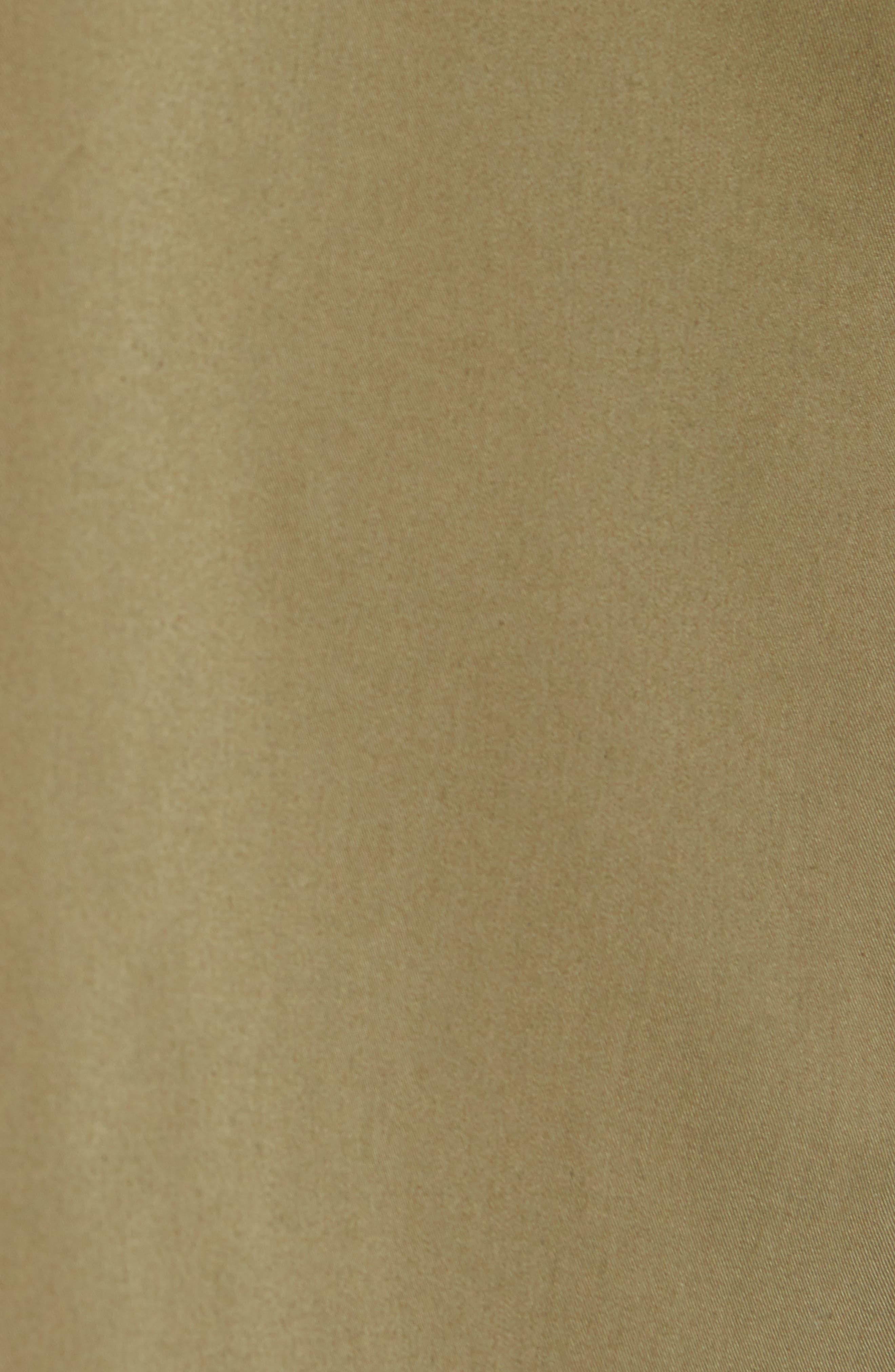 Duster Waterproof Field Coat,                             Alternate thumbnail 7, color,                             VINTAGE OLIVE