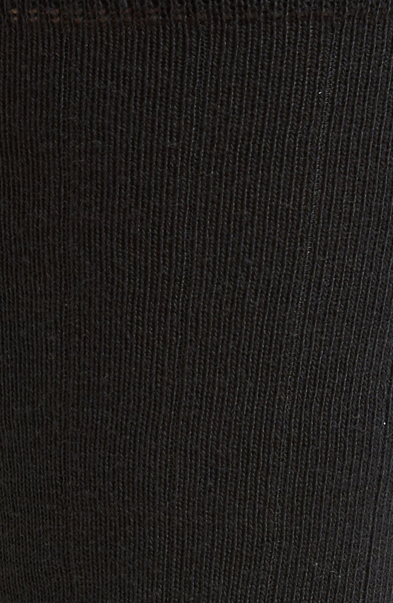 ZeroGrand Ribbed Crew Socks,                             Alternate thumbnail 2, color,                             001