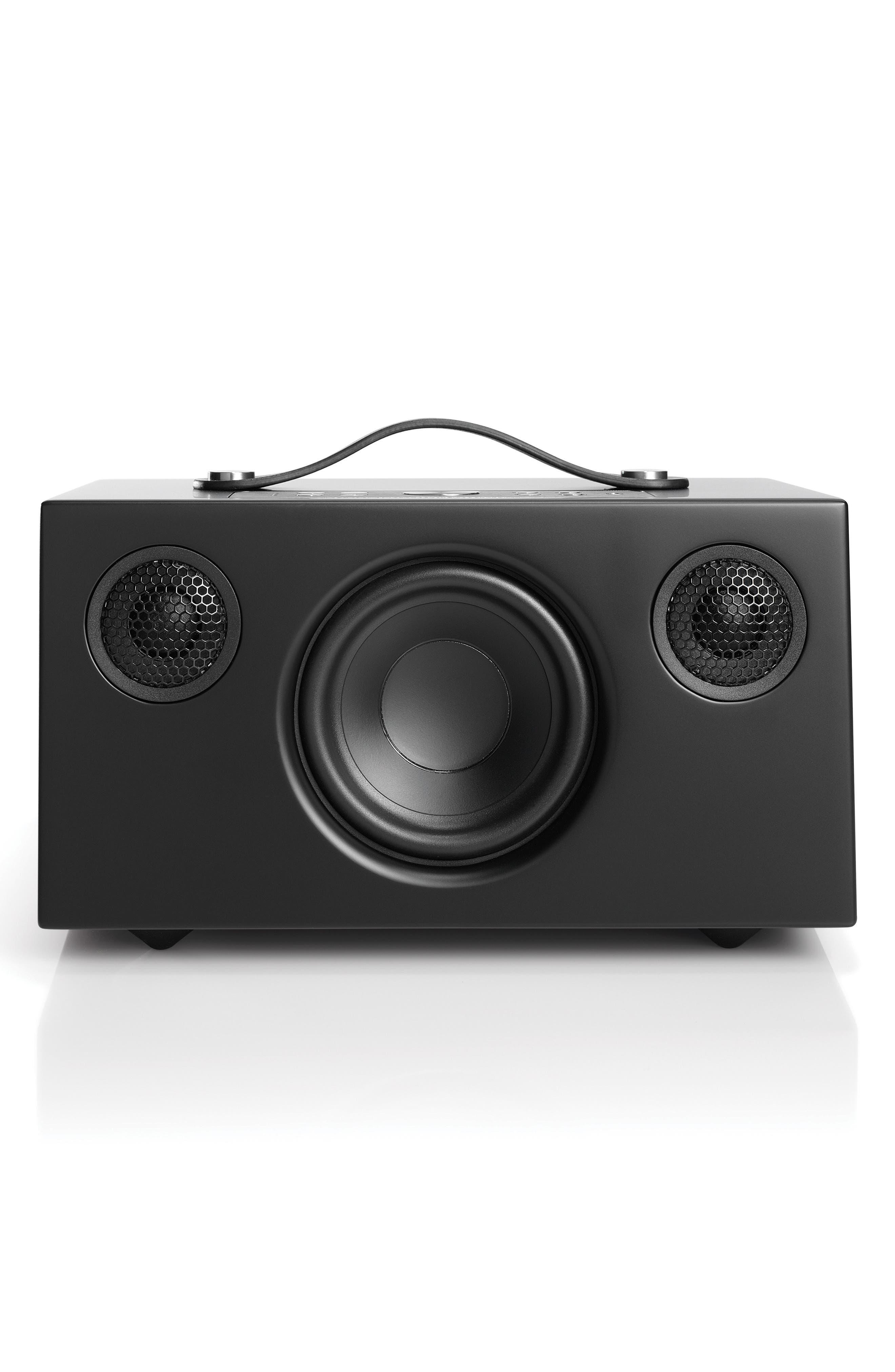Addon C5 Wi-Fi Multi Room Bluetooth<sup>®</sup> Speaker,                         Main,                         color, COAL BLACK
