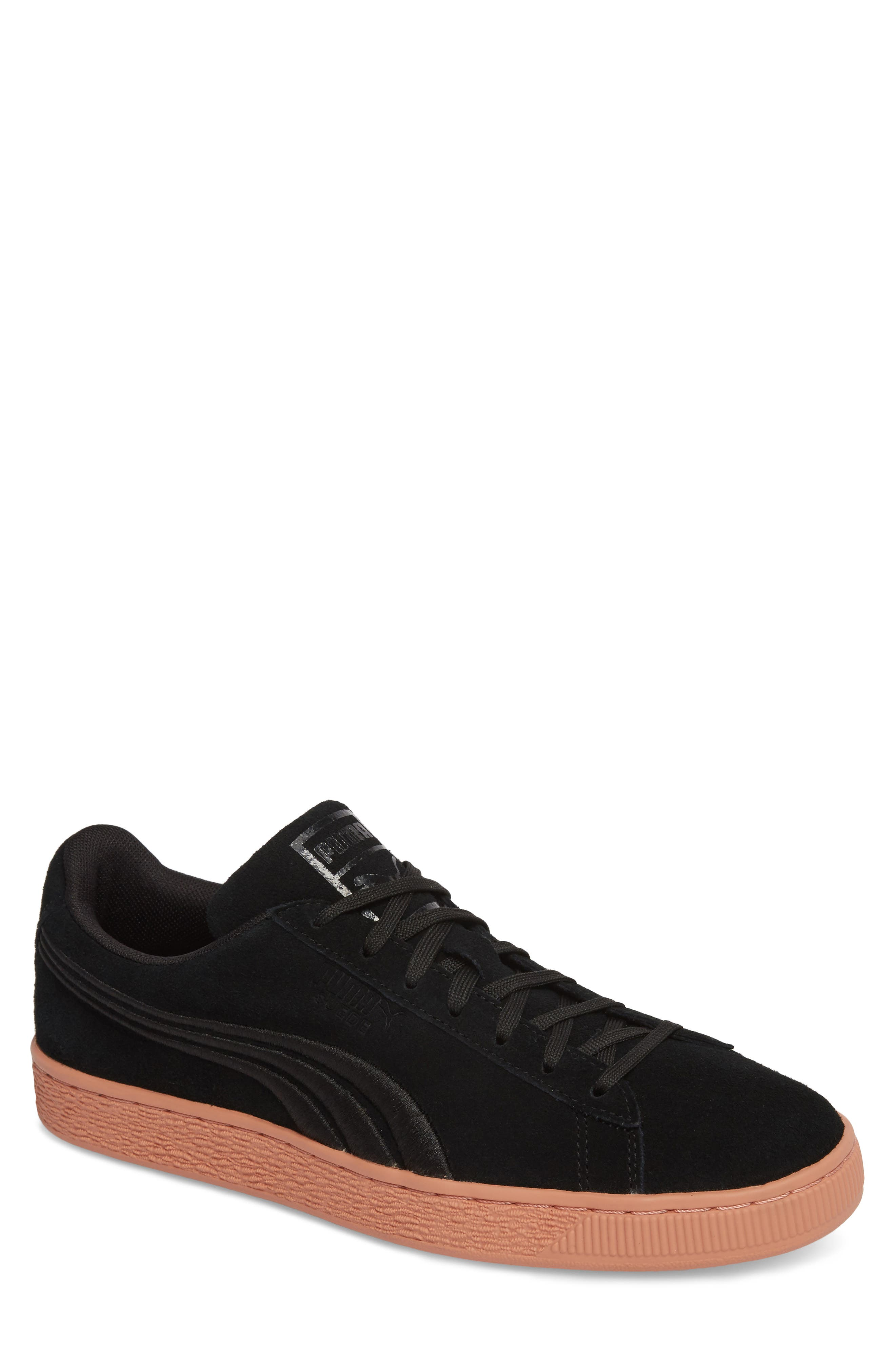 Suede Classic Bade Sneaker,                             Main thumbnail 1, color,                             001