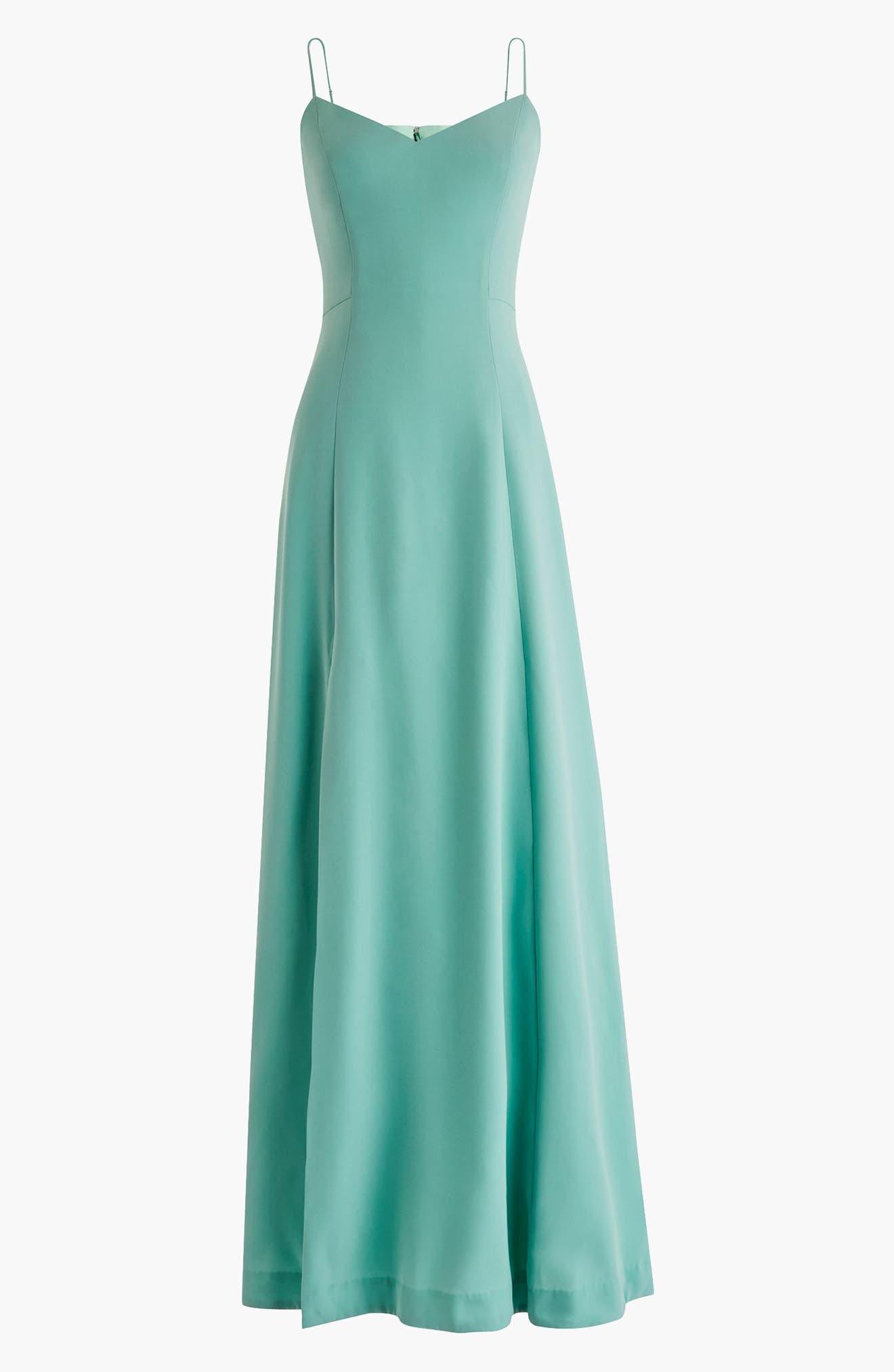 Side Slit Sleeveless Maxi Dress,                             Main thumbnail 2, color,