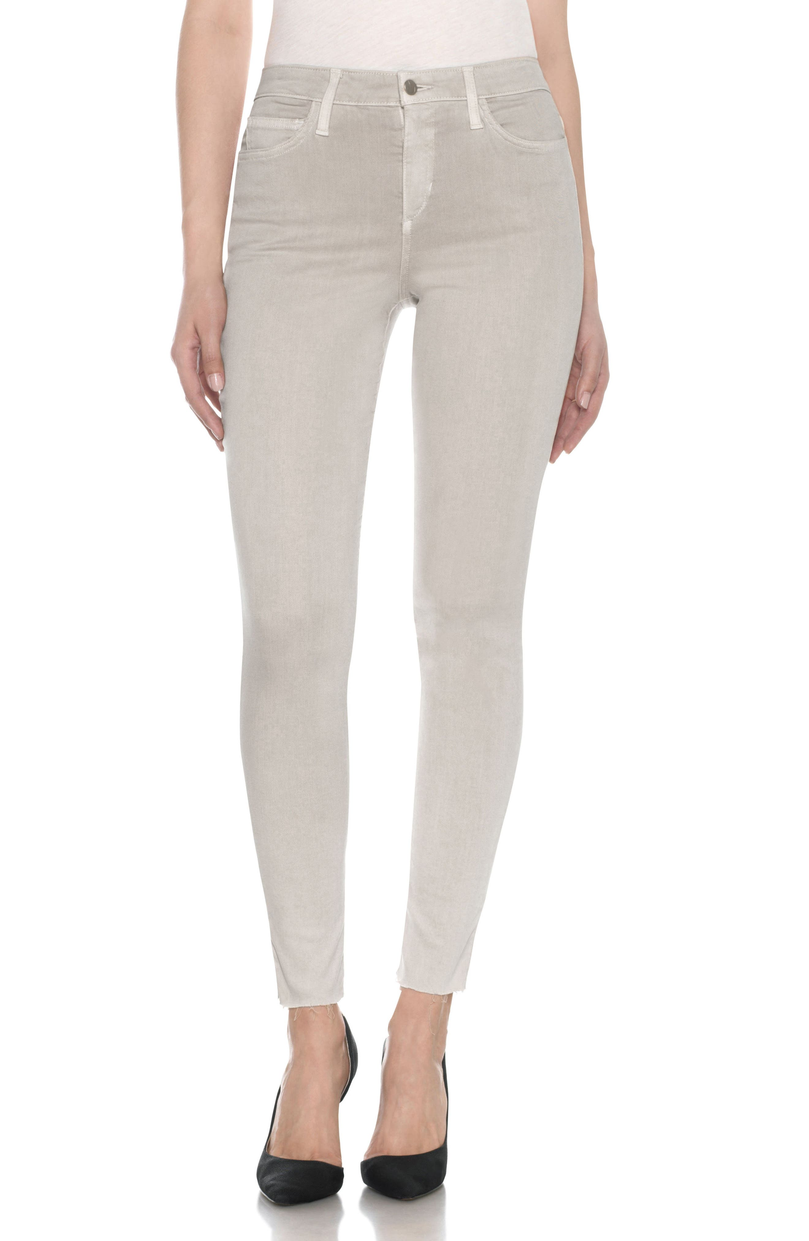 Charlie High Rise Ankle Skinny Jeans,                             Main thumbnail 3, color,