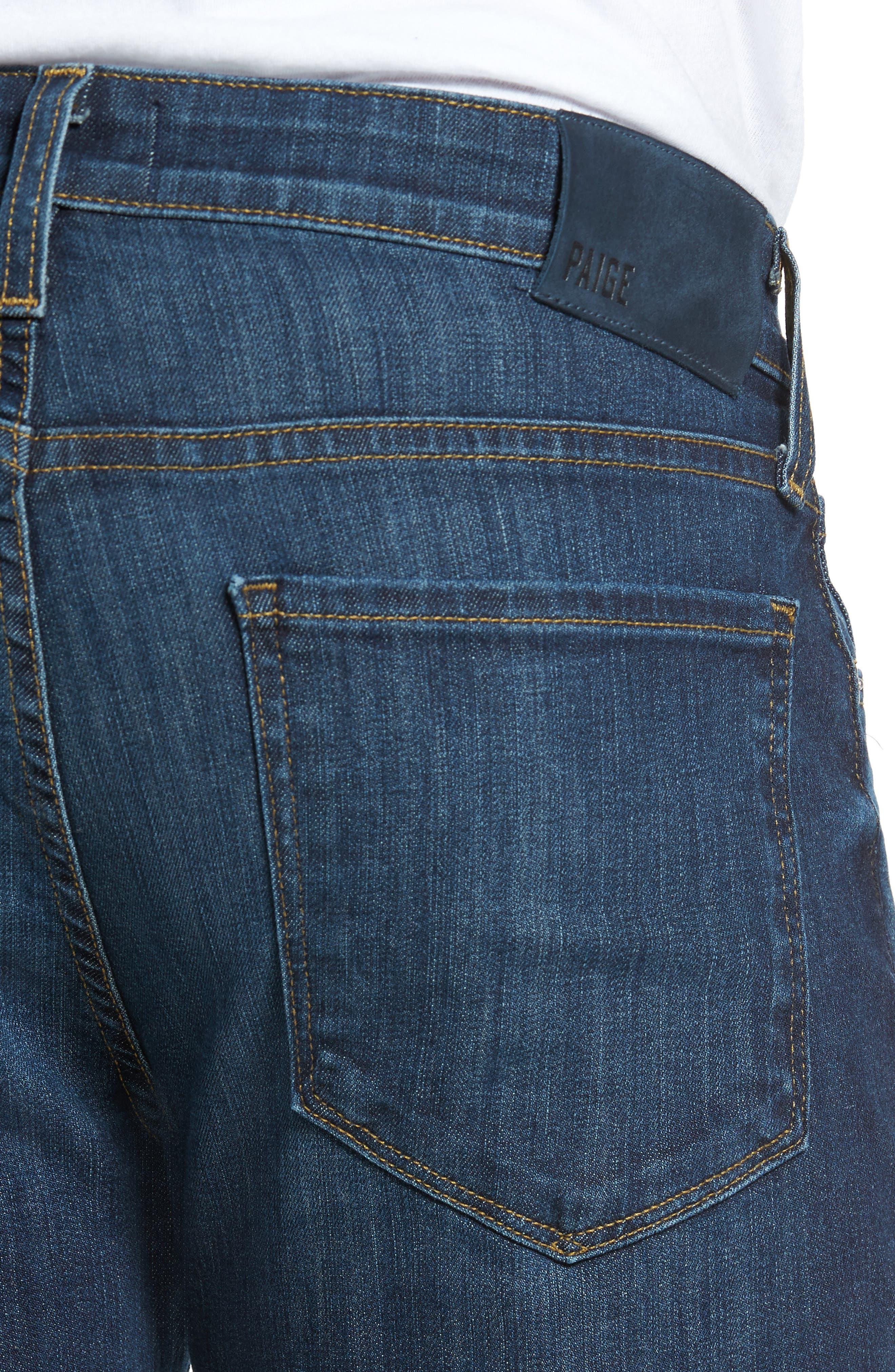 Lennox Slim Fit Jeans,                             Alternate thumbnail 4, color,                             400